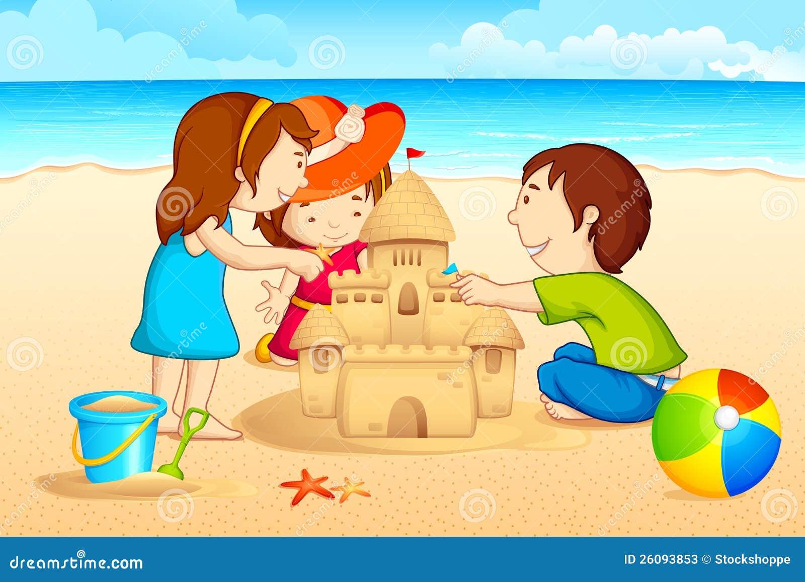 Ungar som gör sanden att rockera