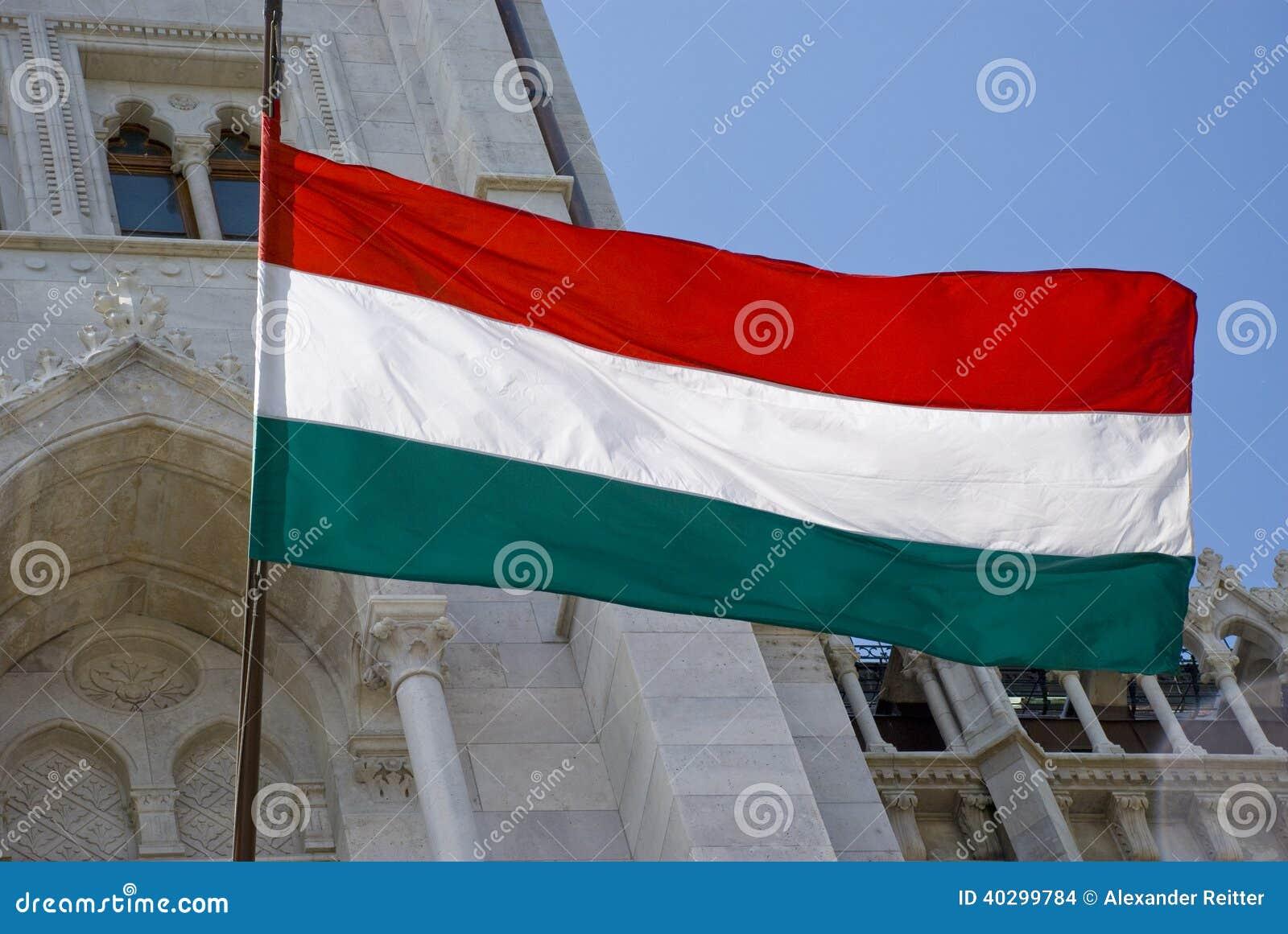 ungarische flagge ungarn archivbilder abgabe des. Black Bedroom Furniture Sets. Home Design Ideas