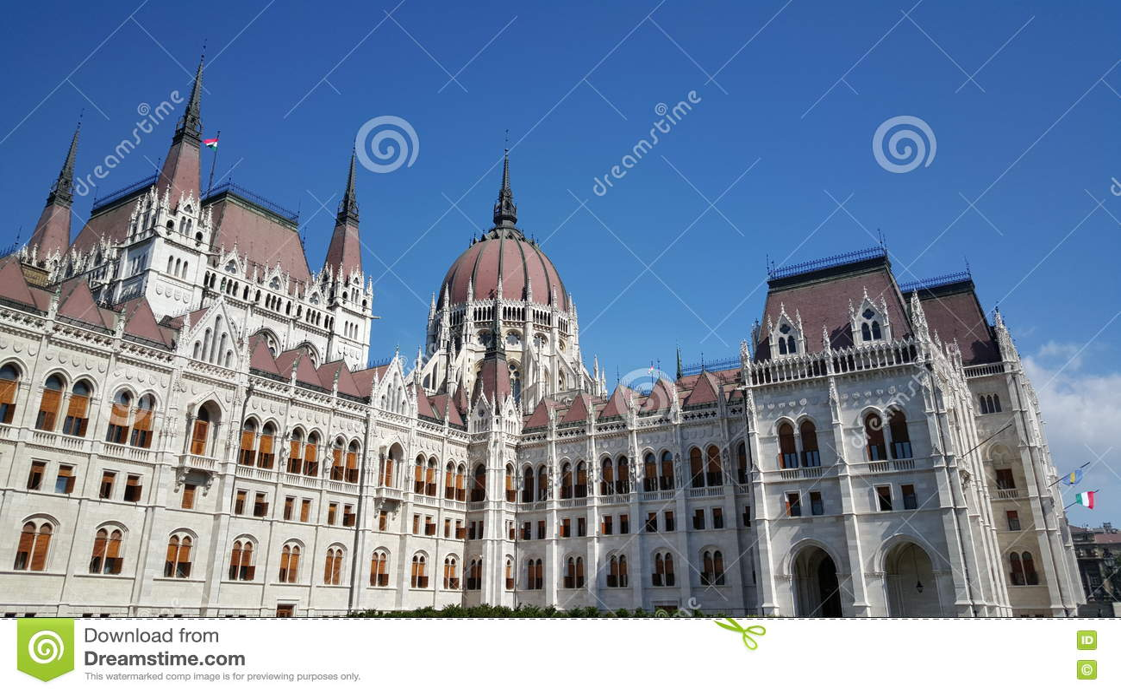 Ungarisches Parlaments-Gebäude