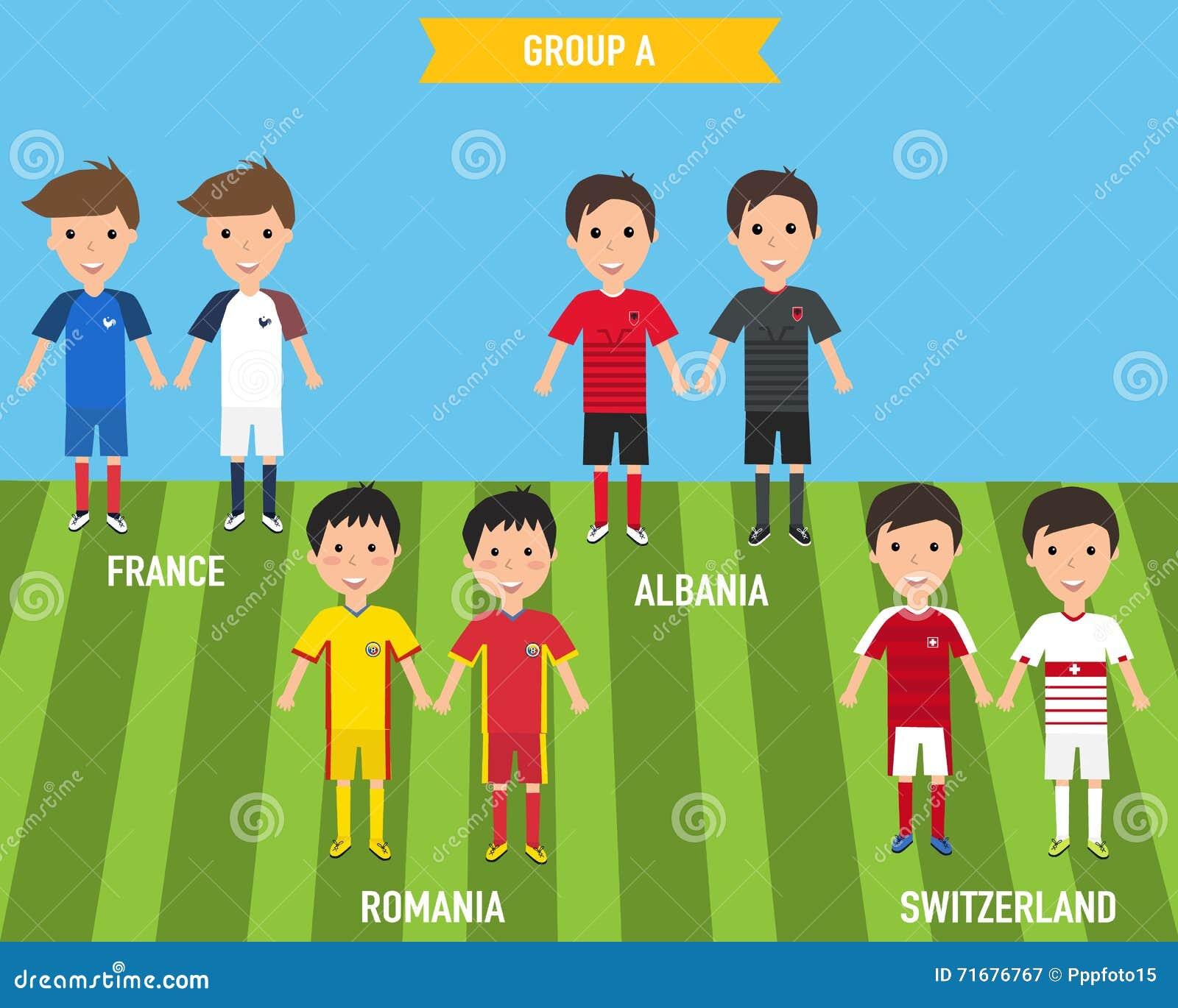 Ungebarn i hem och bort ärmlös tröjalikformig i Frankrike EURO 201