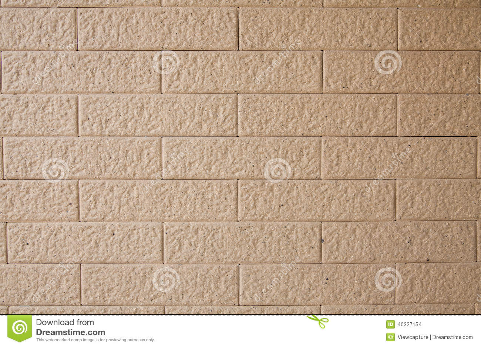 Unglazed Ceramic Tile In Brick Pattern Stock Photo 40327154 Megapixl