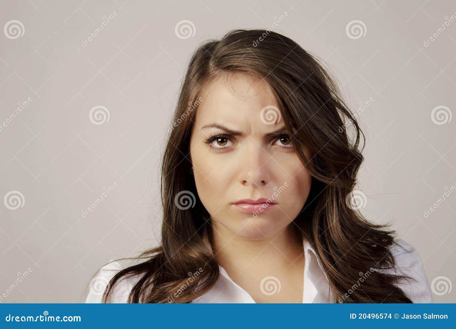 Unhappy Woman 95