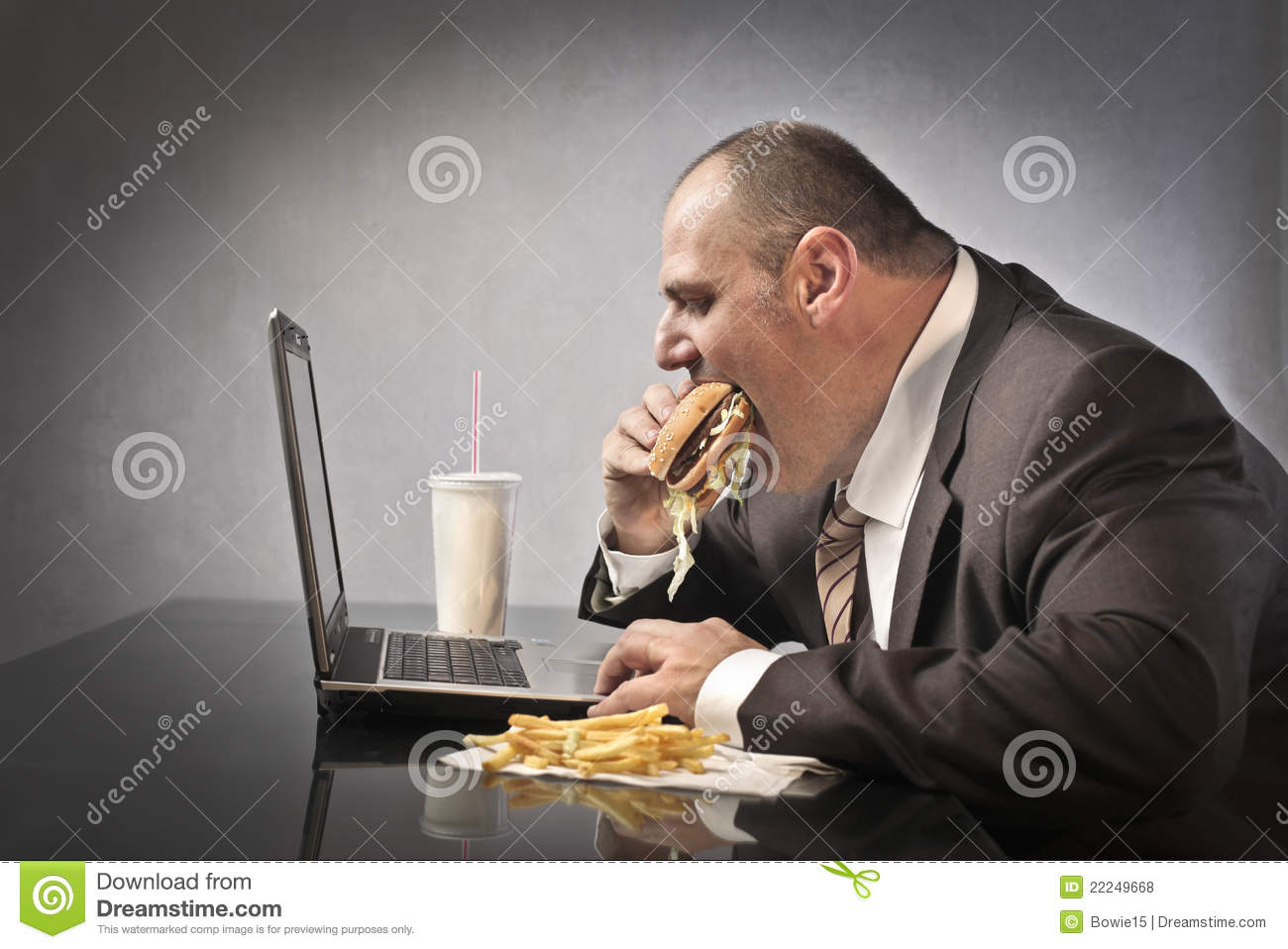 Unhealthy lifestyle stock photo image of caucasian for Lift style