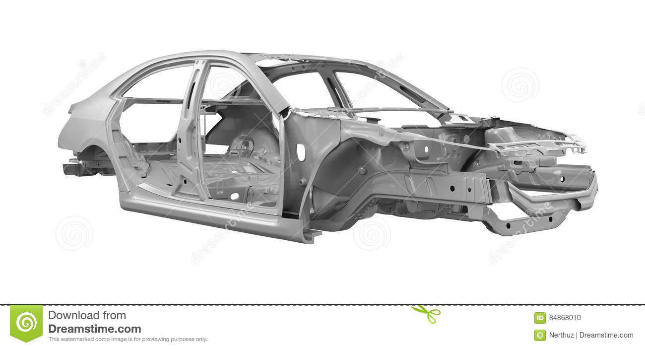 Unibody Car Chassis Stock Photo Image Of Ideas Concepts 84868010