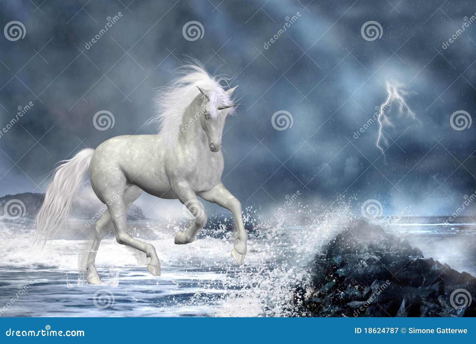 Unicórnio branco
