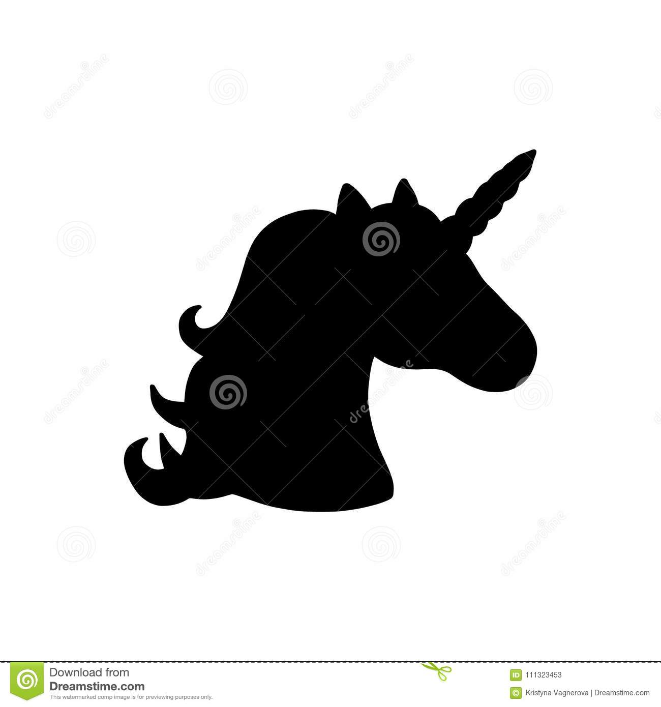 Black Unicorn Stock Illustrations 7 830 Black Unicorn Stock Illustrations Vectors Clipart Dreamstime