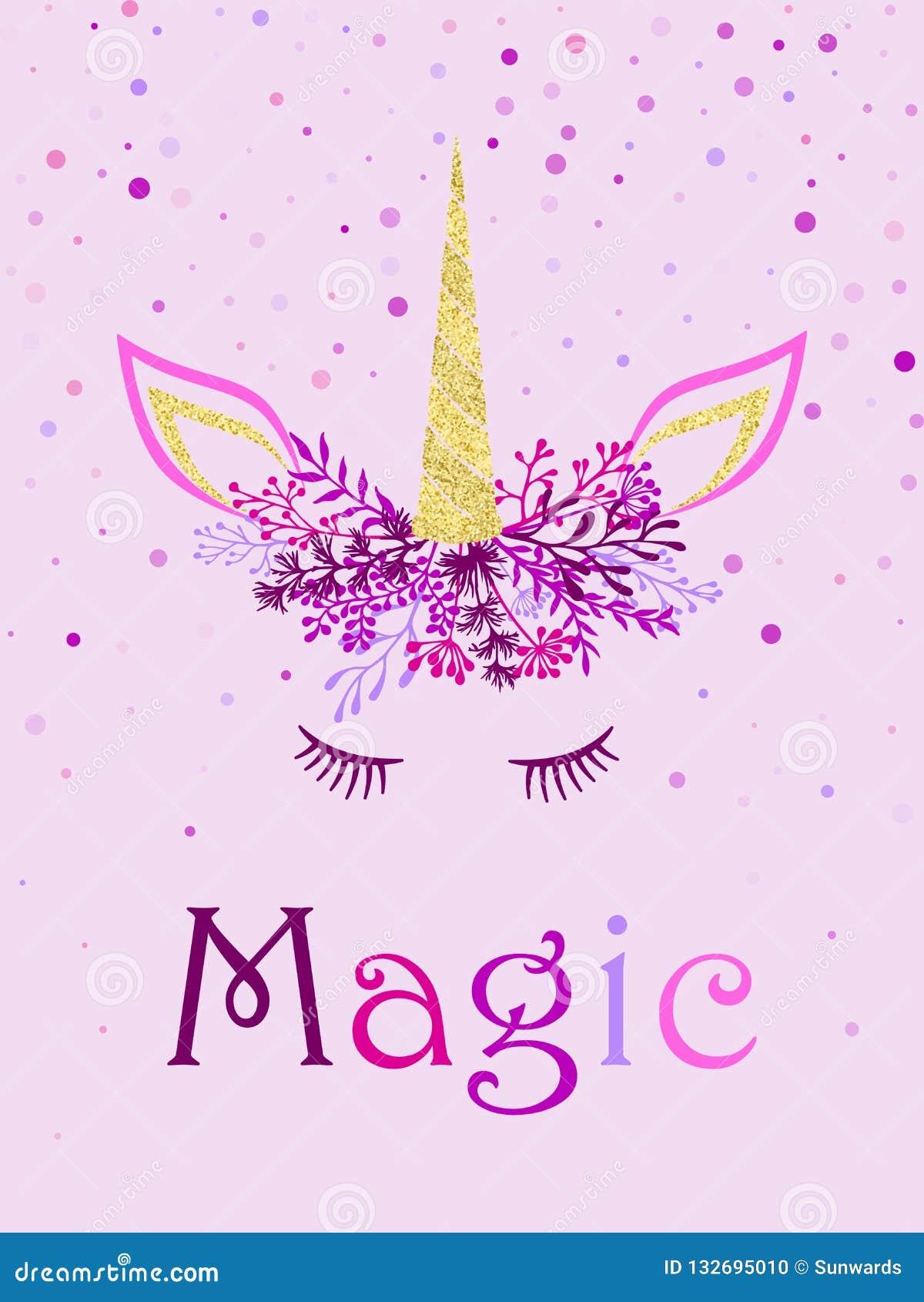 Magical Unicorn Horn Tiara