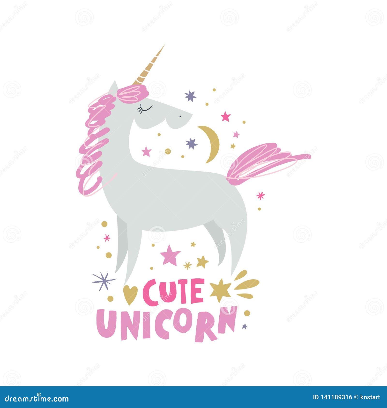 Unicorn Nursery Wall Art, Animal Prints, Baby Room ...