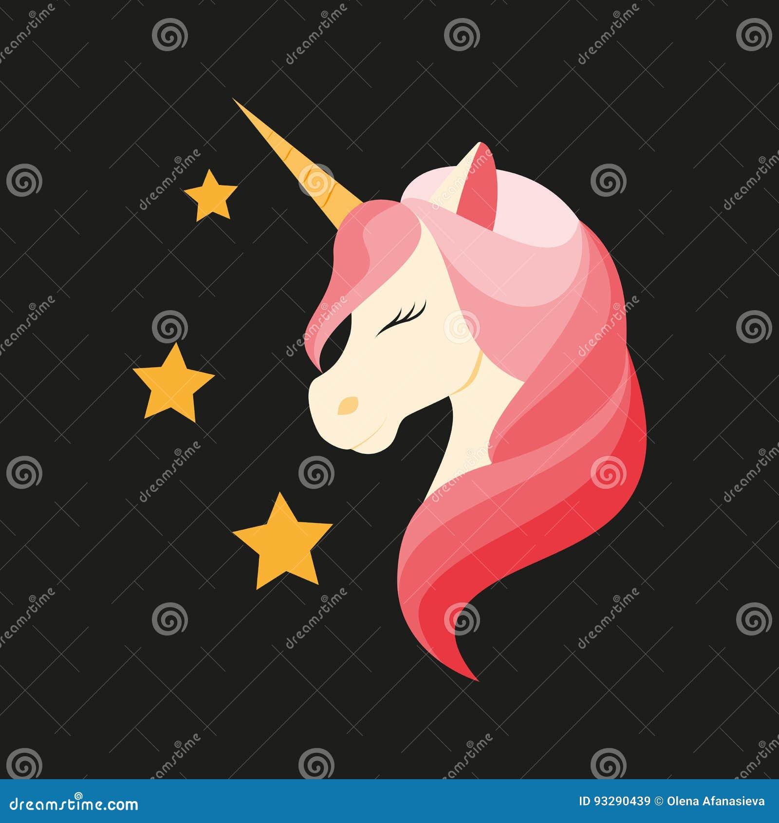 Unicorn också vektor för coreldrawillustration