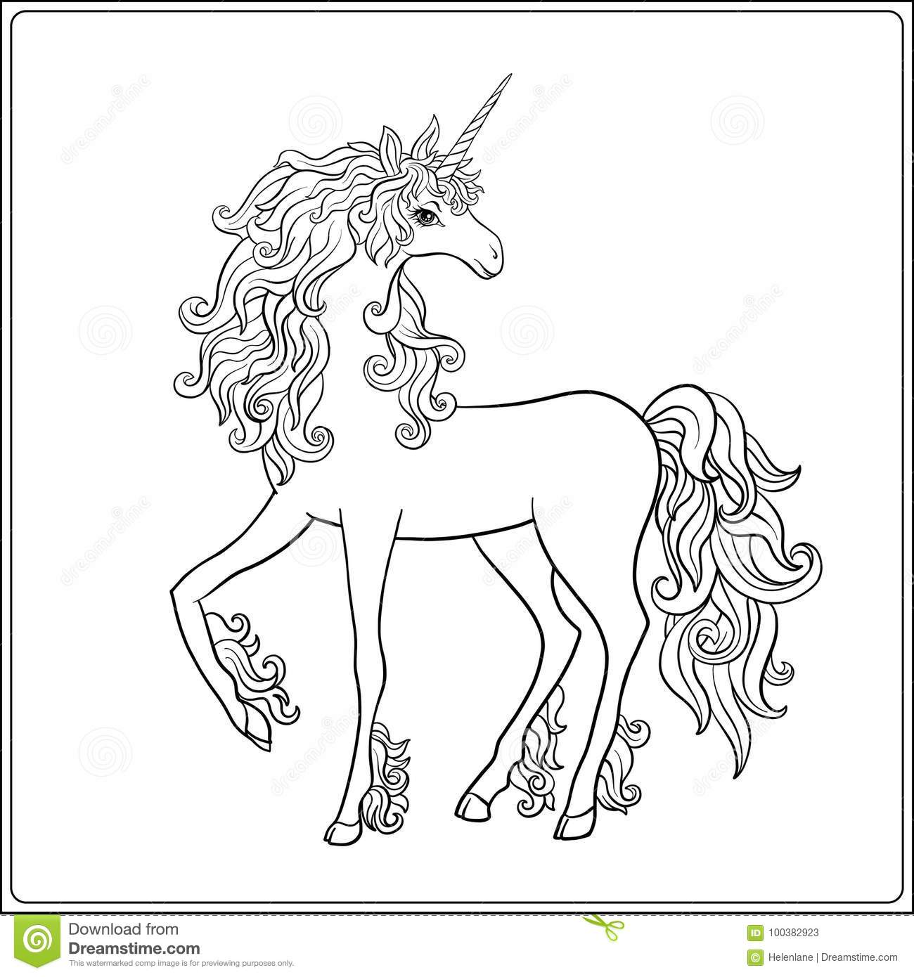 Outline drawings for colouring
