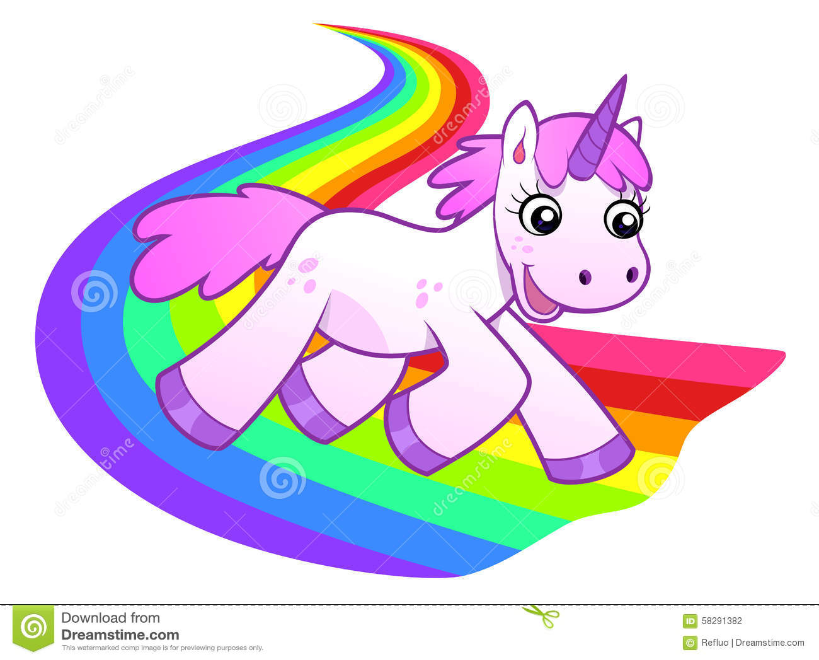 unicorn runs on rainbow stock vector image 58291382 soldats clipart clipart soldat poilu