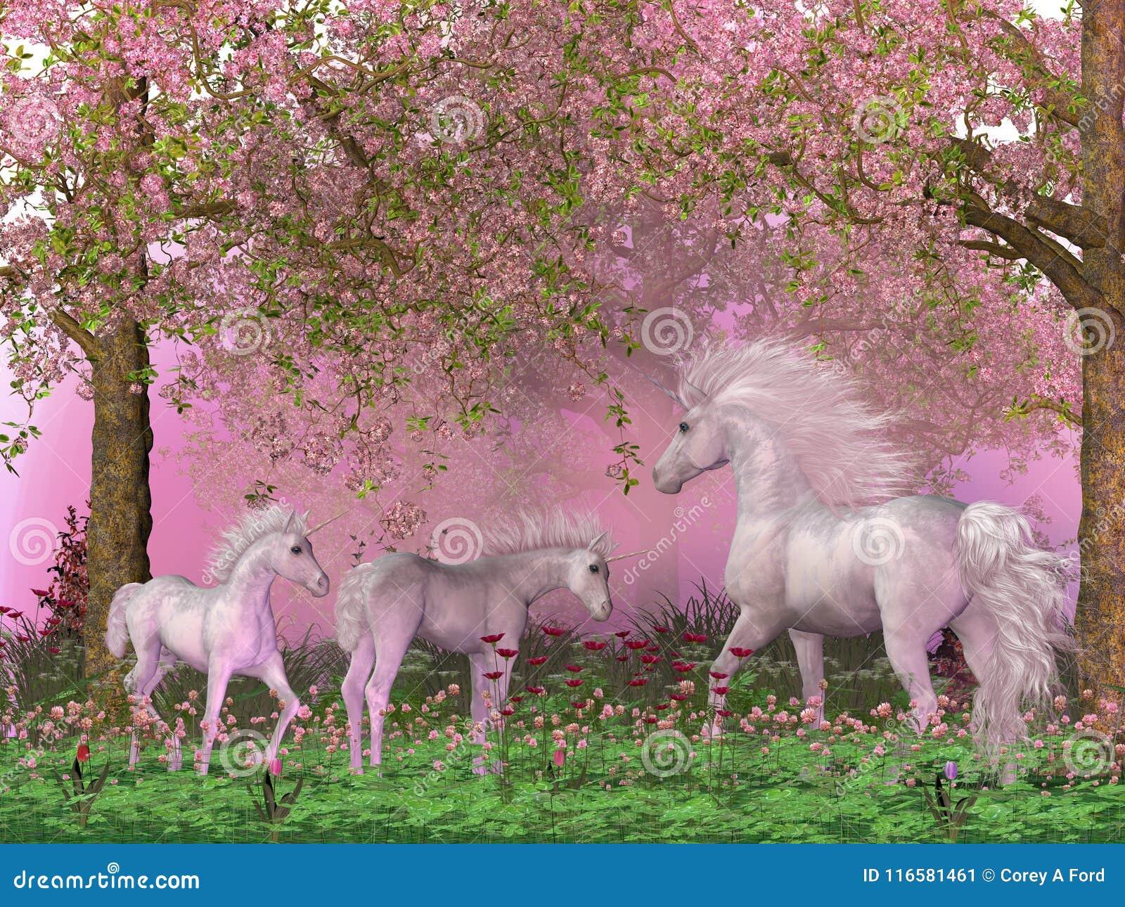 Unicornios de la primavera