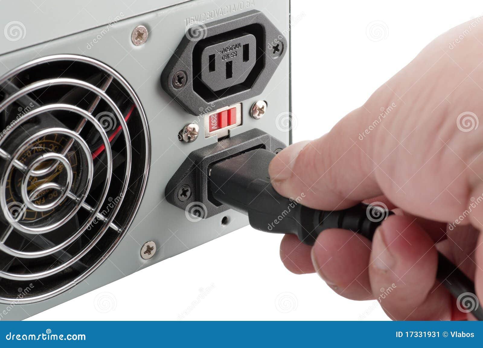 A unidade de potência do computador pessoal