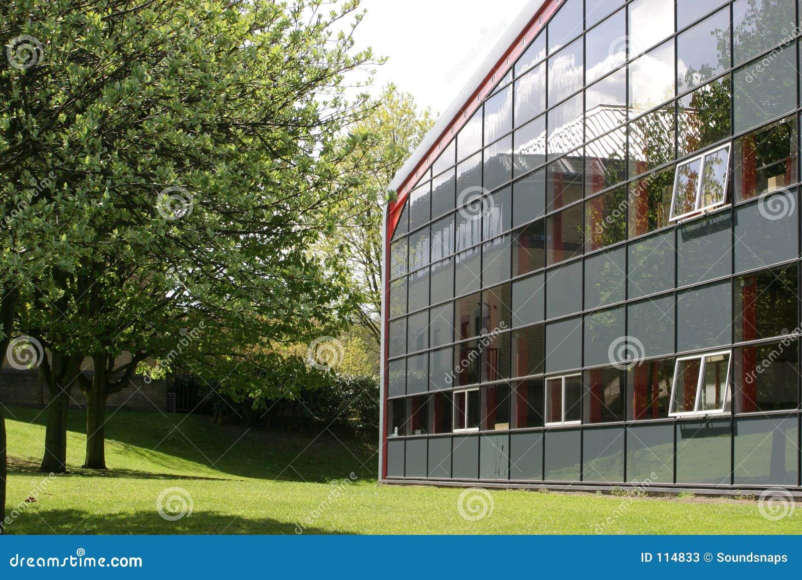 Unidade do edifício industrial