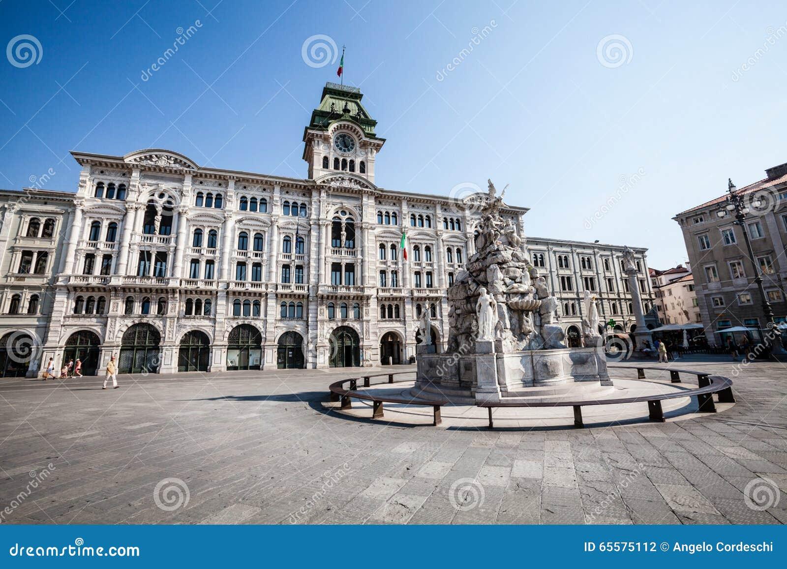 Unidade do quadrado Trieste de Itália, Itália