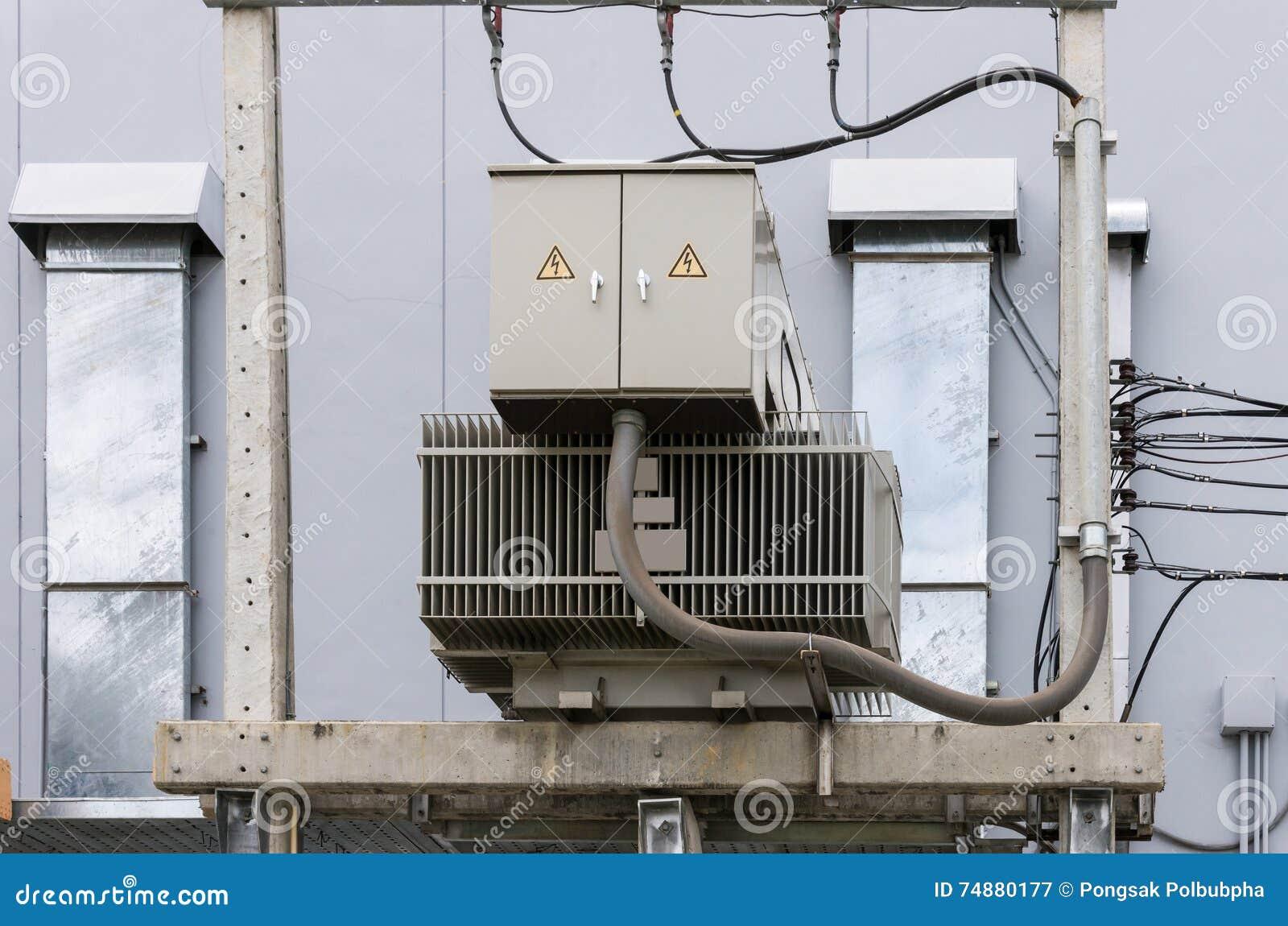 Unidade elétrica do transformador