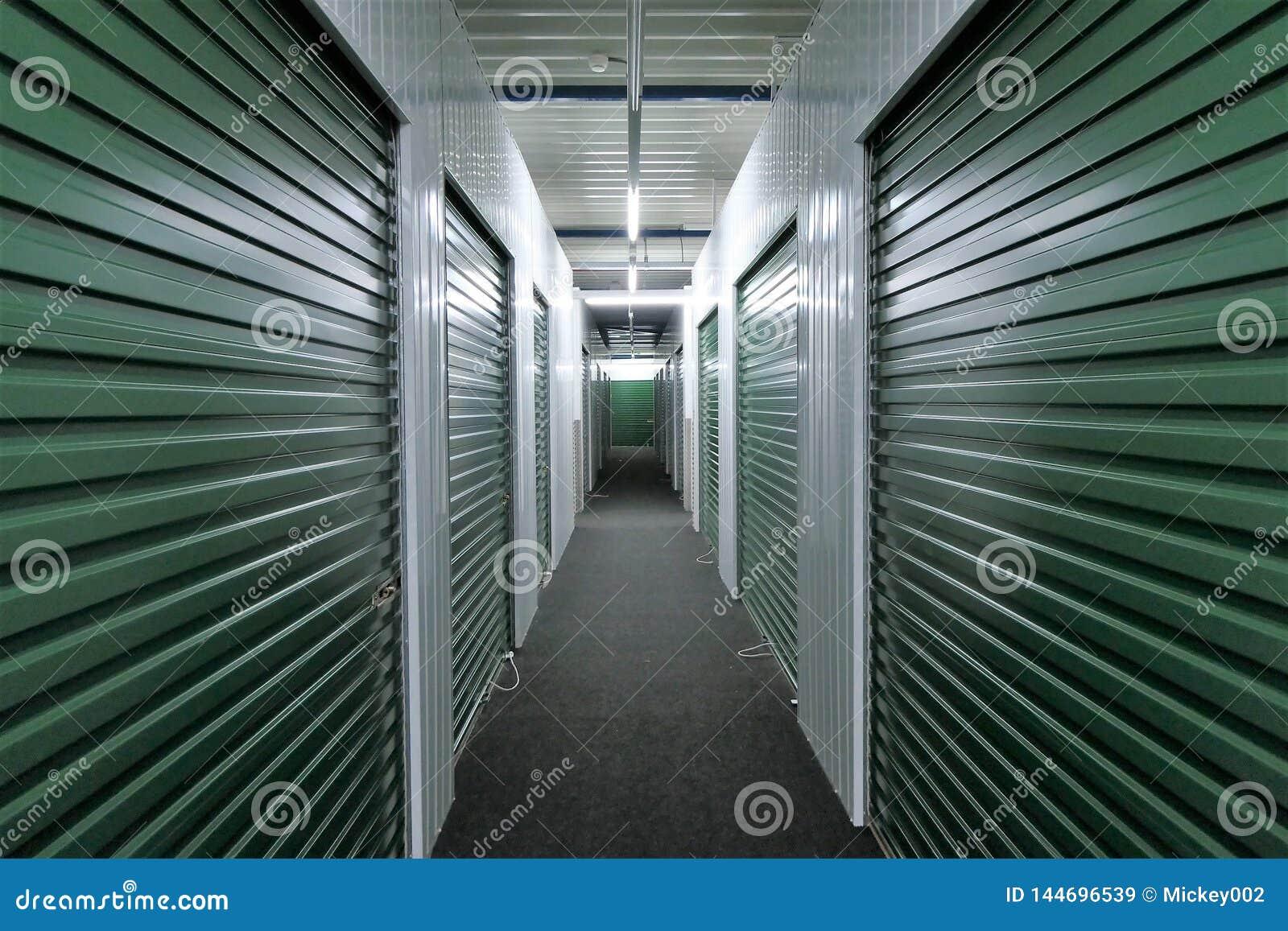 Unidades de almacenamiento del vestíbulo