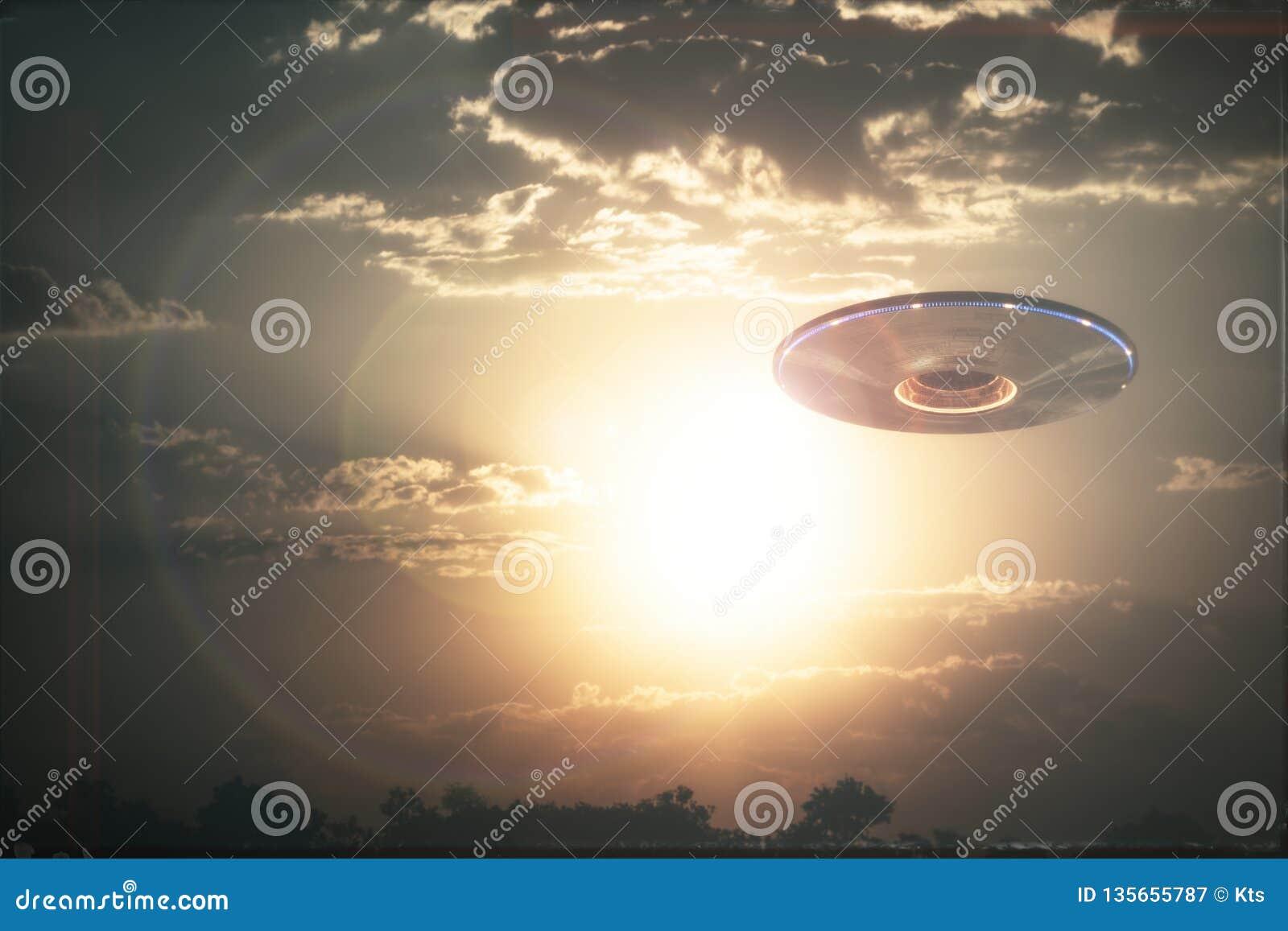 Unidentified Flying Object UFO Stock Image - Image of sightings
