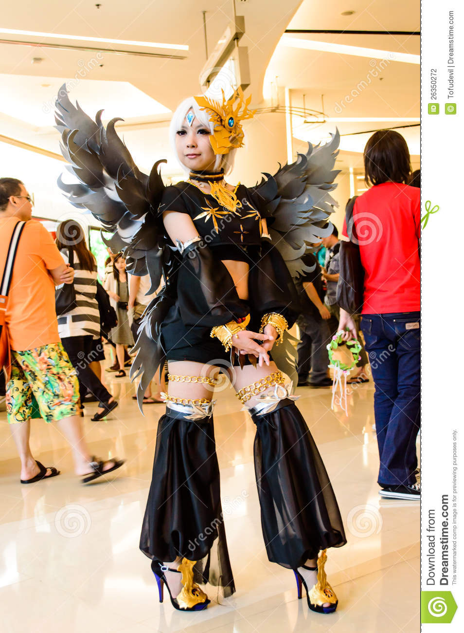 An Unidentified Japanese Anime Cosplay Editorial