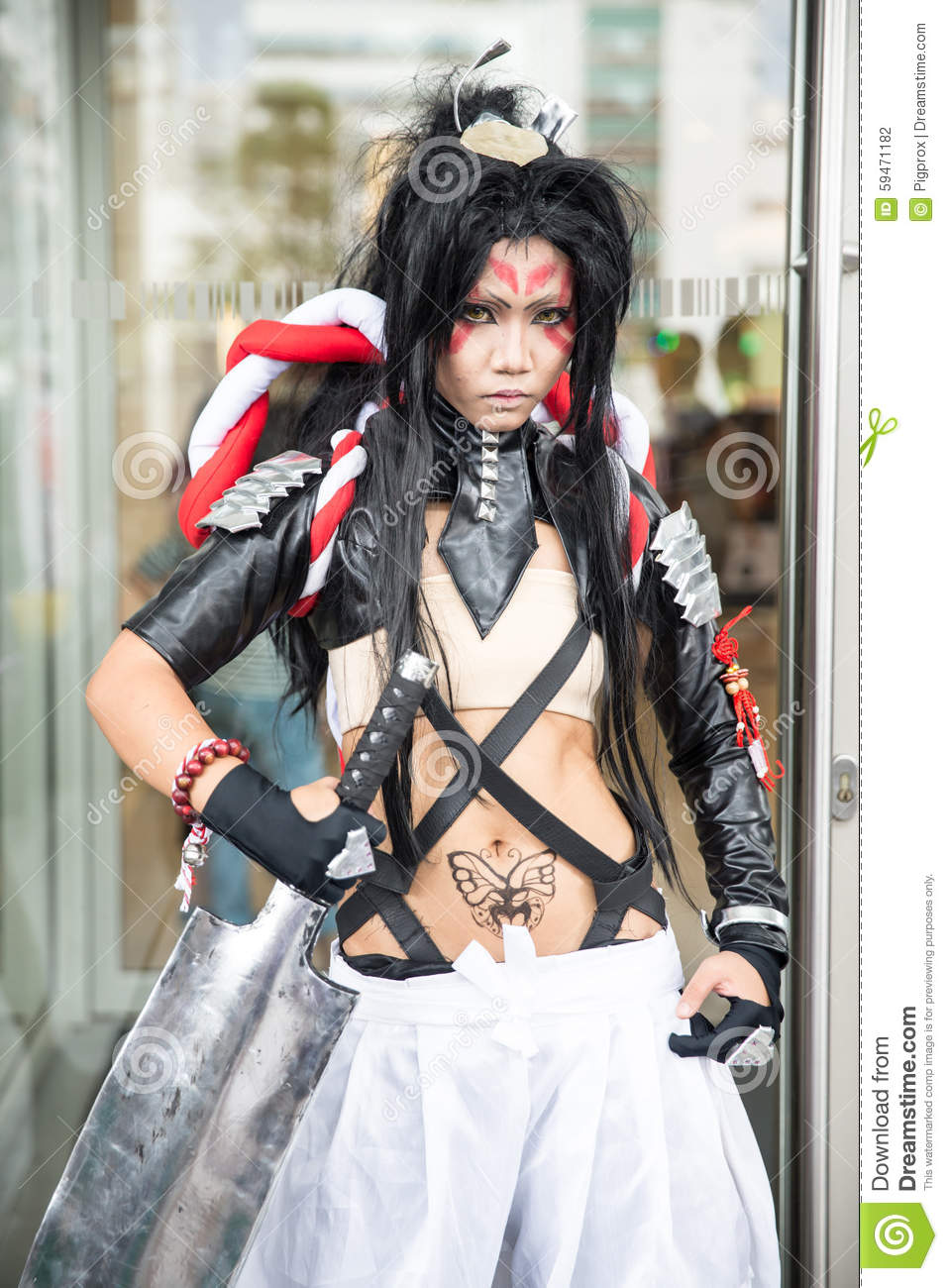 An Unidentified Japanese Anime Cosplay At Central World In ...