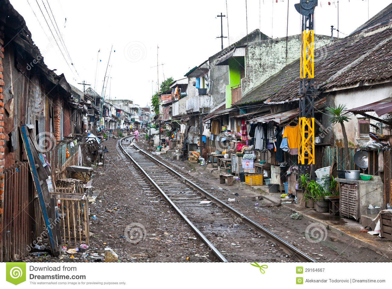 Unidentified Poor People Living In Slum Indonesia Royalty Free Stock Photography  Image: 29164667 - Cheap Home Plans