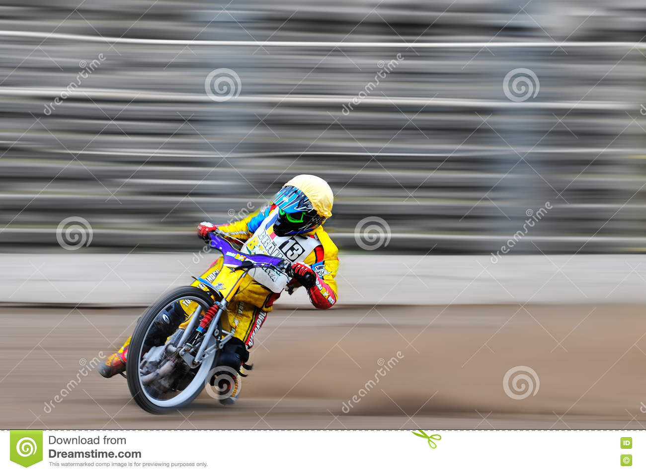 Download Unidentified Rider Participate At National Championship Of Dirt Track Editorial Image - Image of fast, national: 81650155