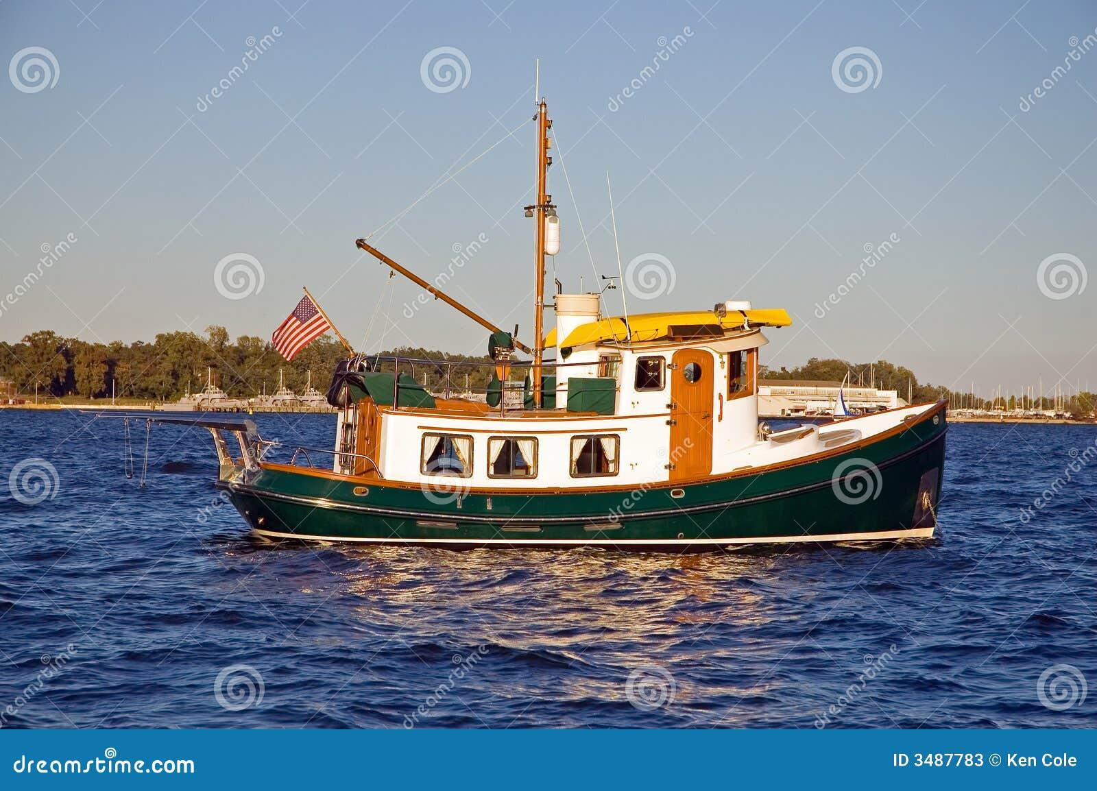 Unieke sleepbootboot