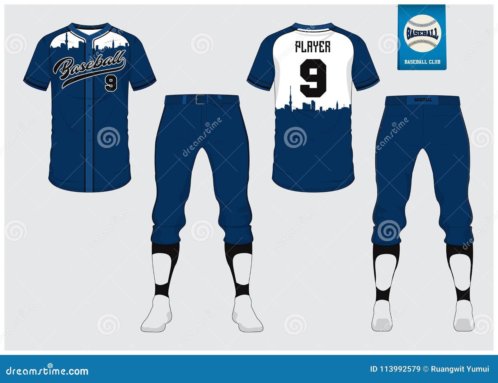 Uniforme do basebol, jérsei do esporte, esporte do t-shirt, curto, molde da peúga Zombaria do t-shirt do basebol acima Uniforme d