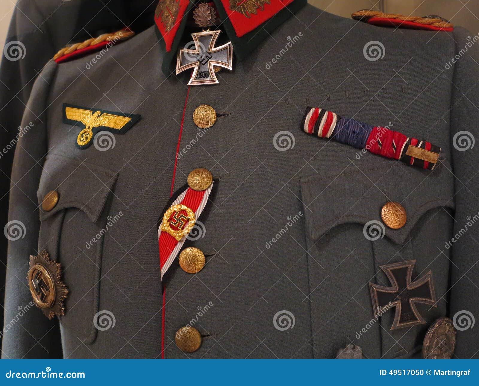 uniforme militaire formel allemand de la deuxi 232 me guerre mondiale photo stock image 49517050