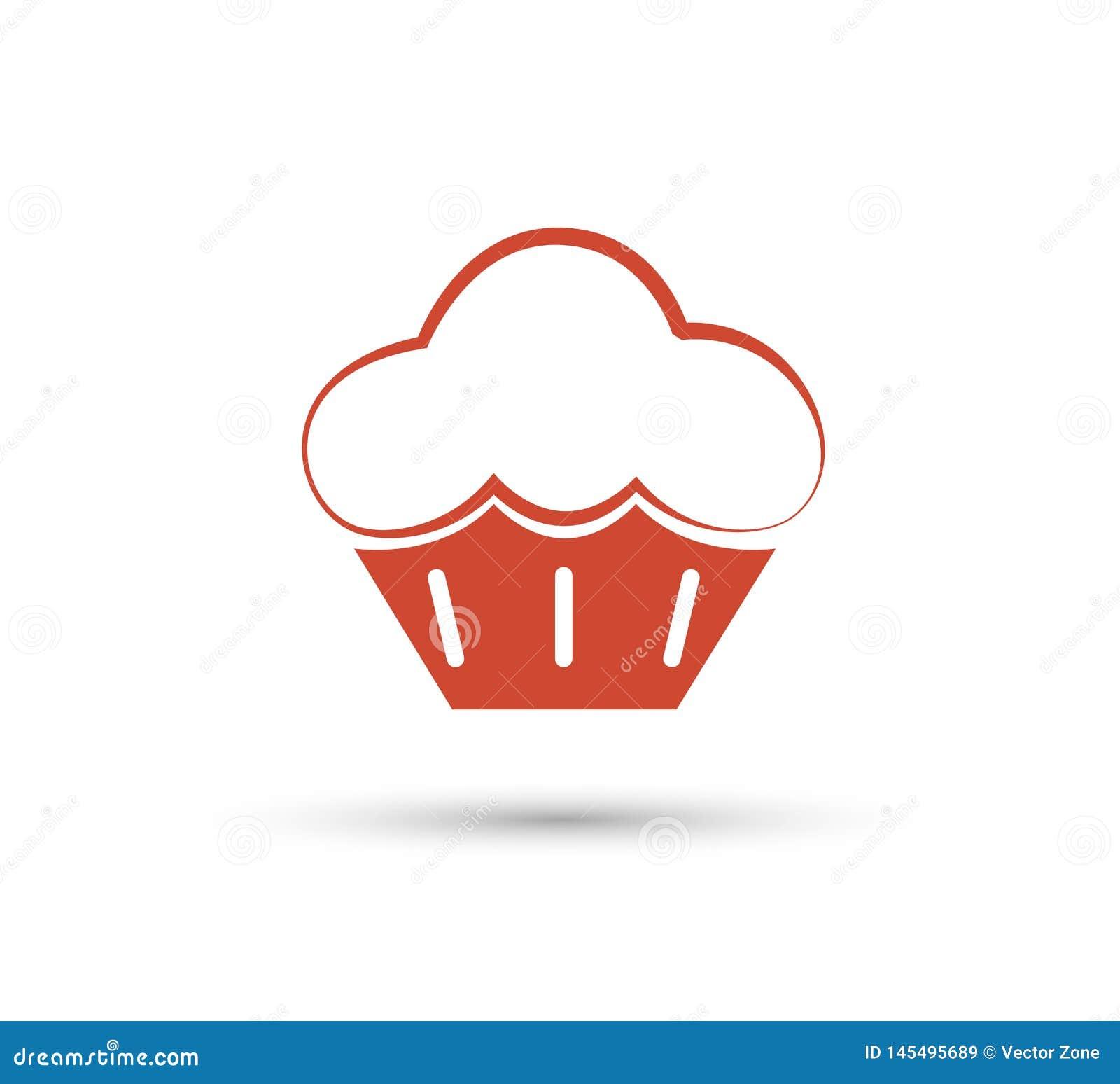 Unik kaka- och logomall vektor redigerbart Bageri baner