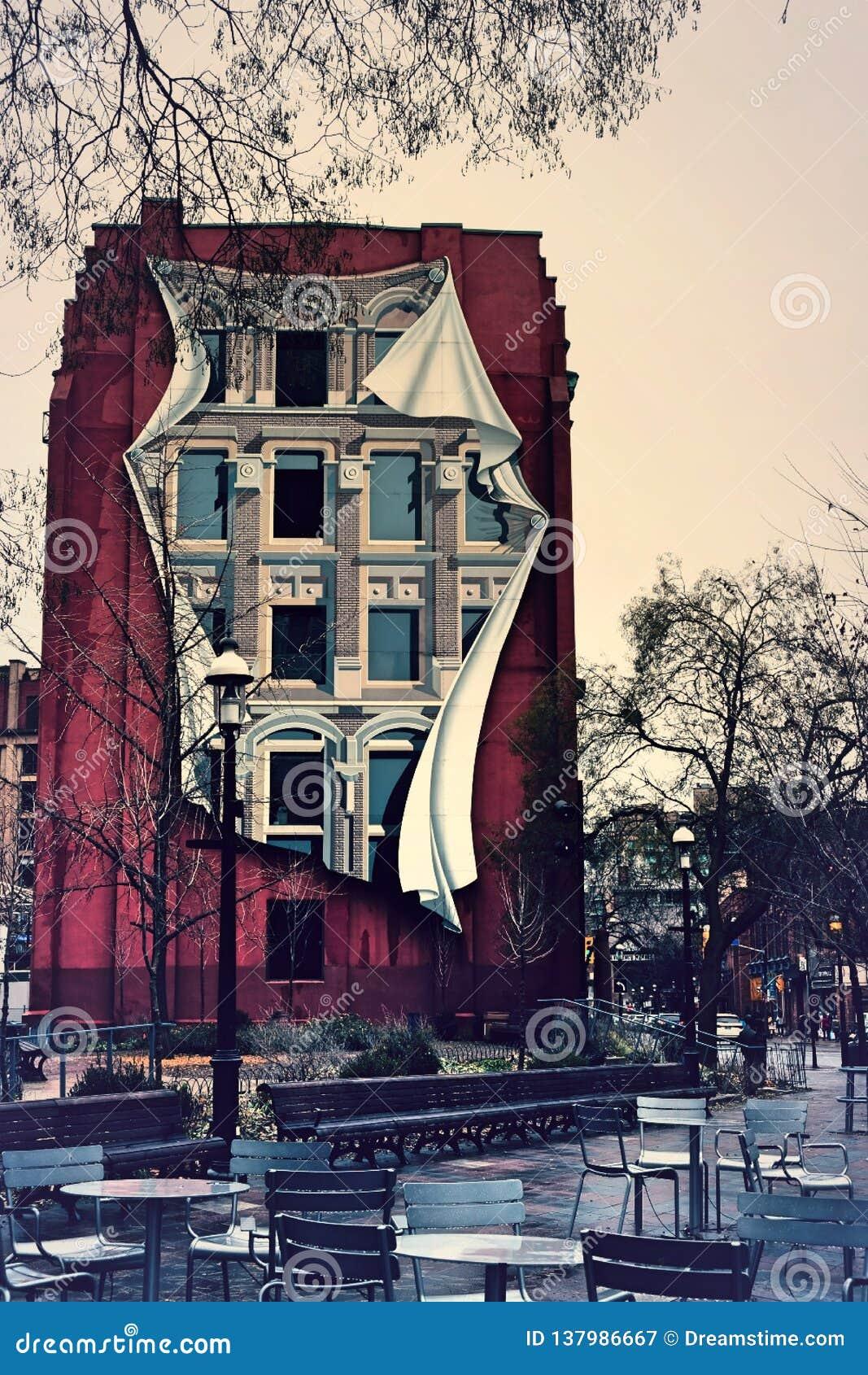 Unikalny budynek - Aka Flatiron budynek