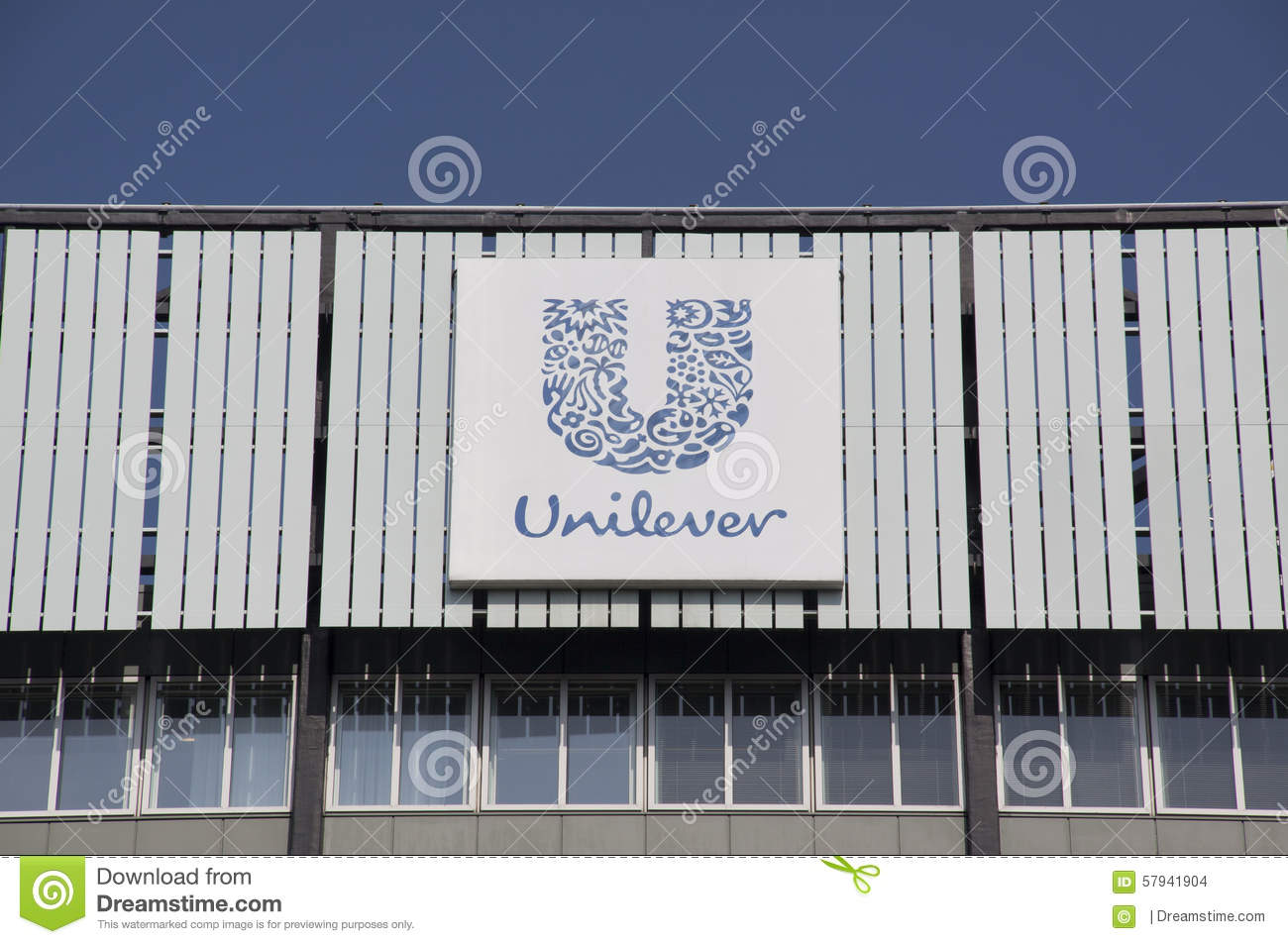 Download Unilever editorial stock image. Image of name, symbol - 57941904