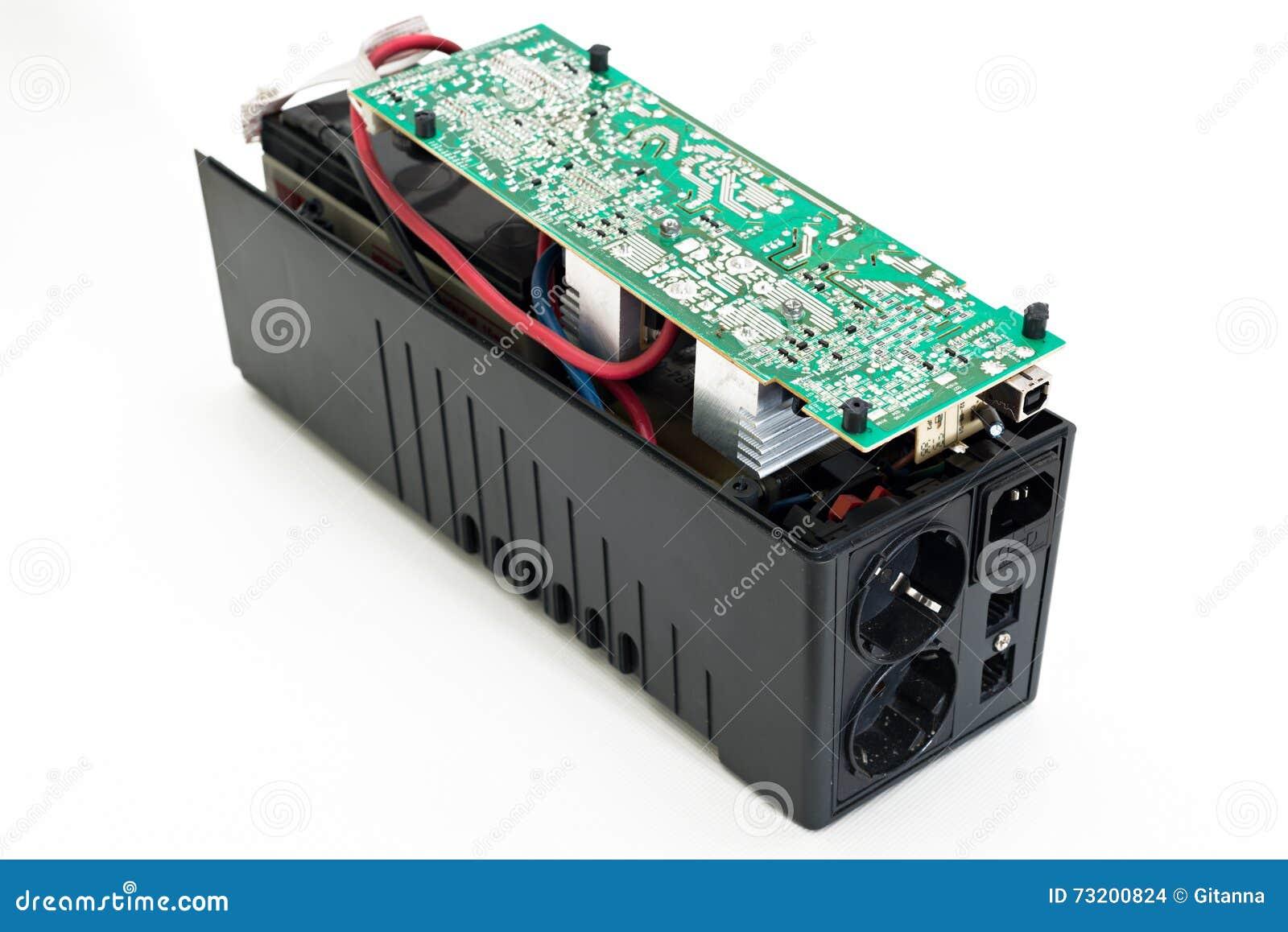 Uninterruptible Power Supply Stock Photo - Image of emergency ...