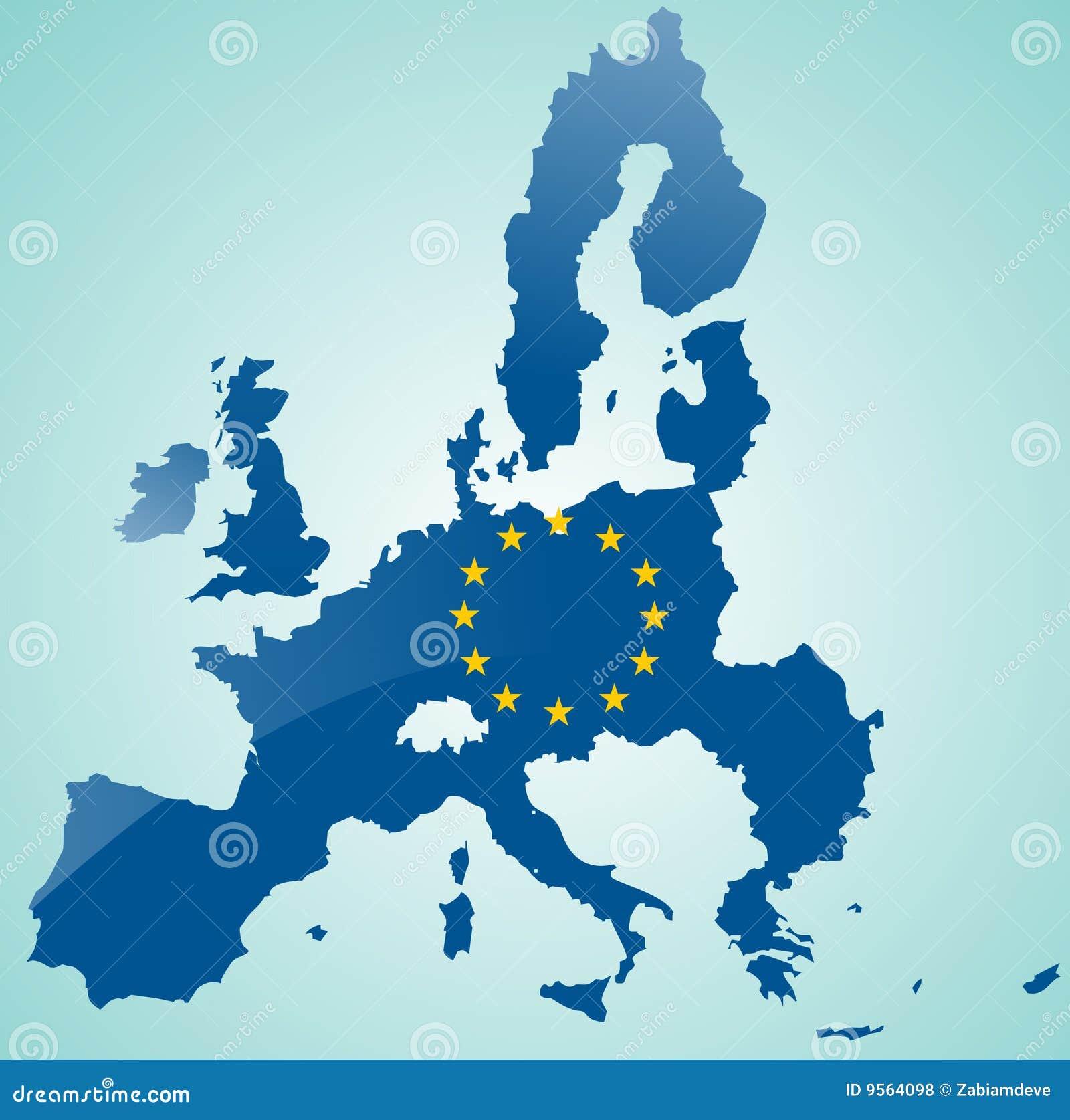 Carte d Union européenne