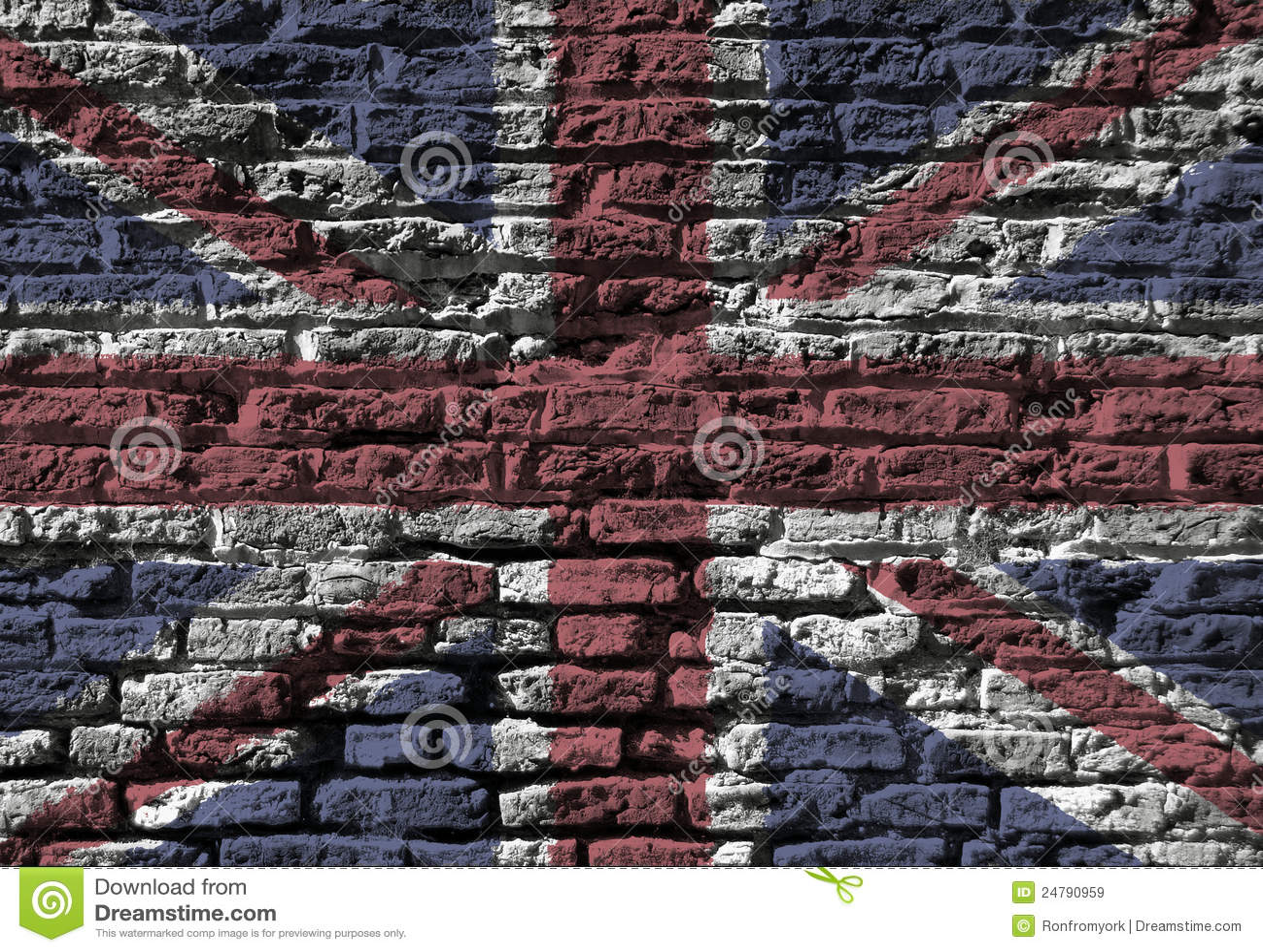 Union Jack wall