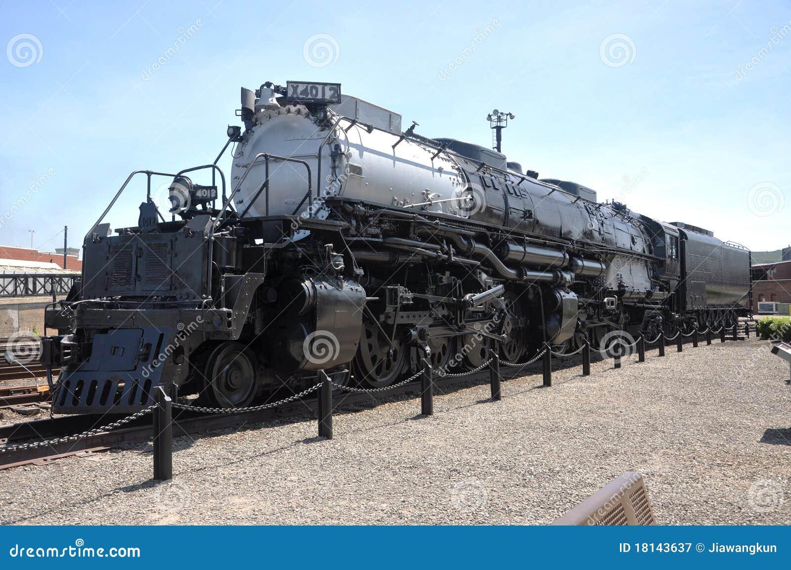Union pacifique 4012 de locomotive vapeur photographie for Photographie de stock