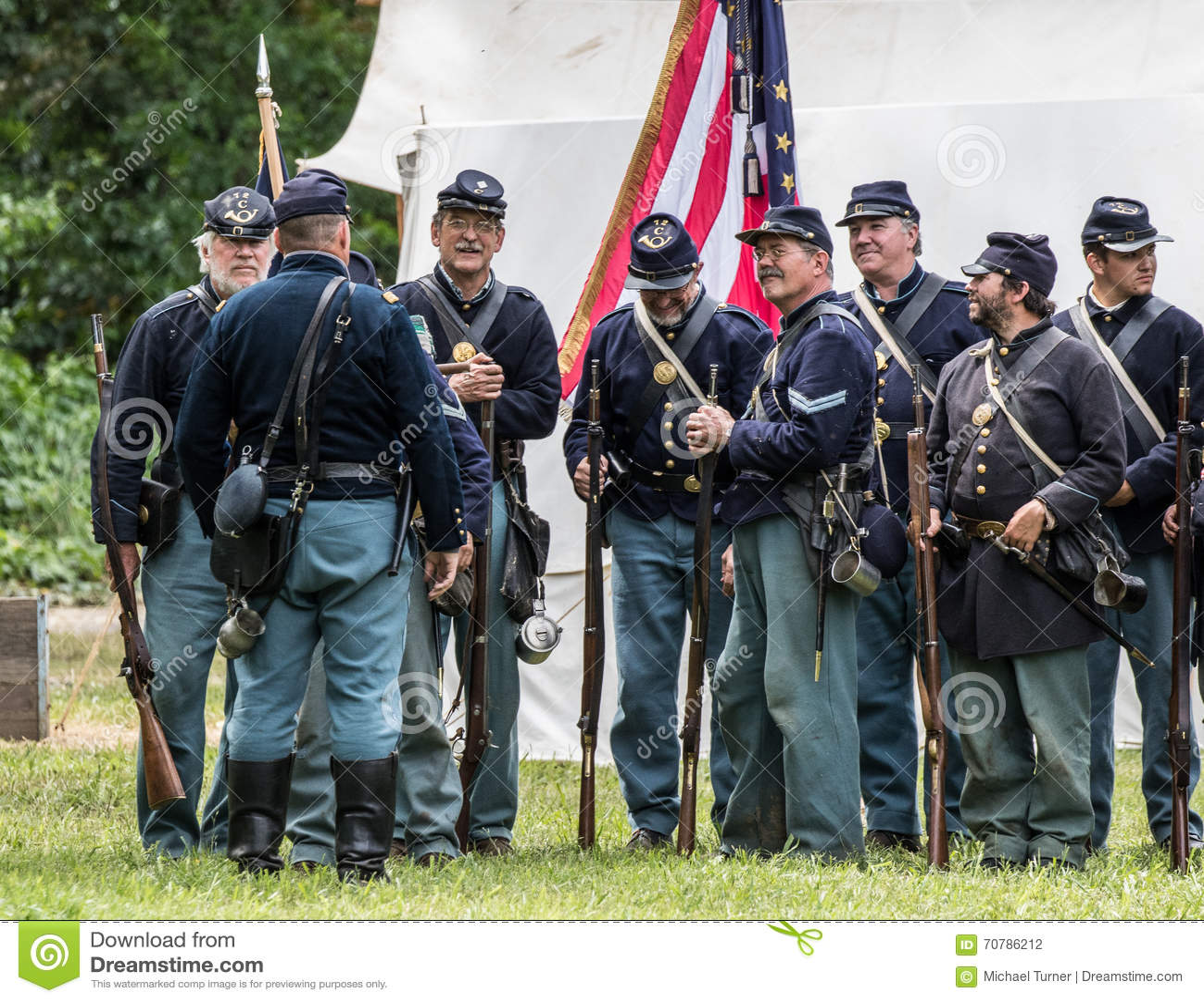 Civil war soldiers union