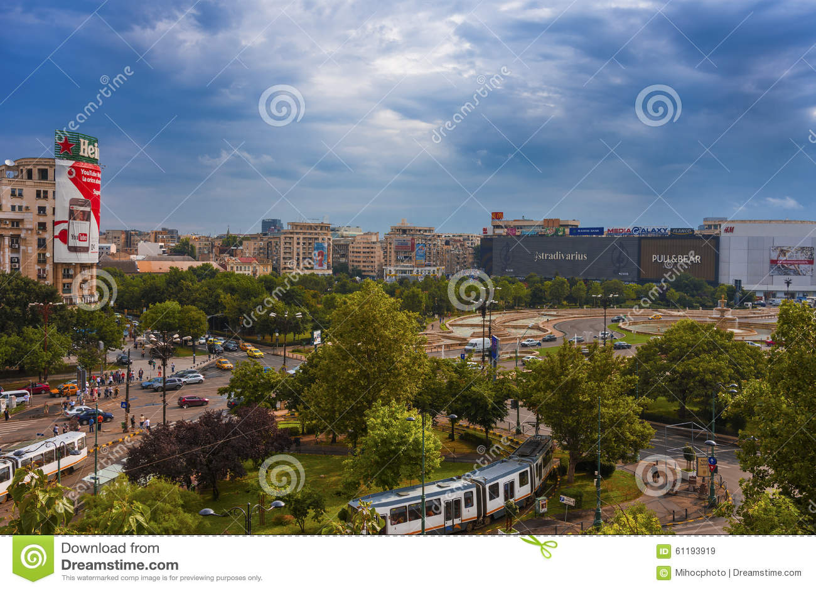 Union Square Bucareste Romênia