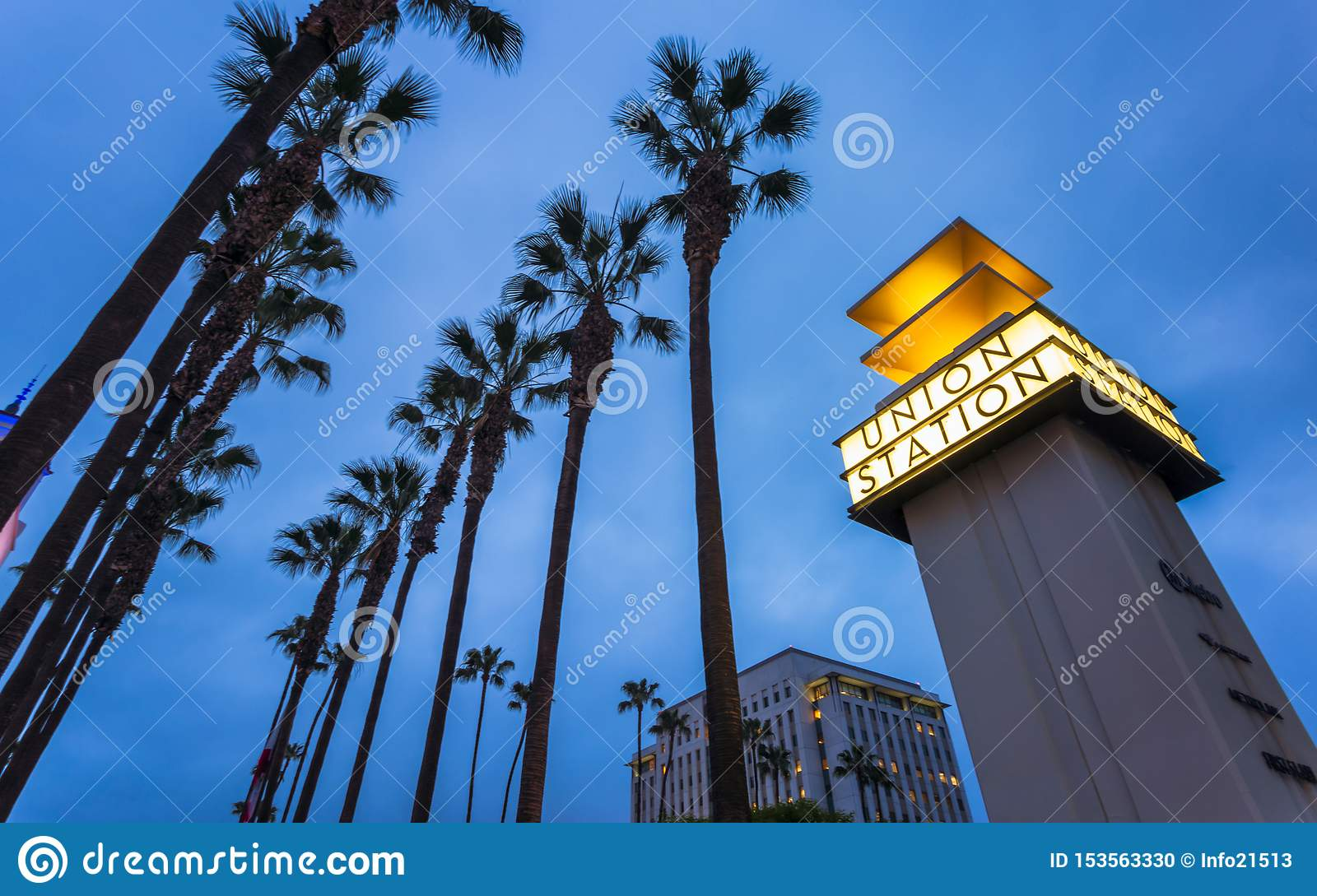 Union Station, Downtown Los Angeles, California, United States of America.