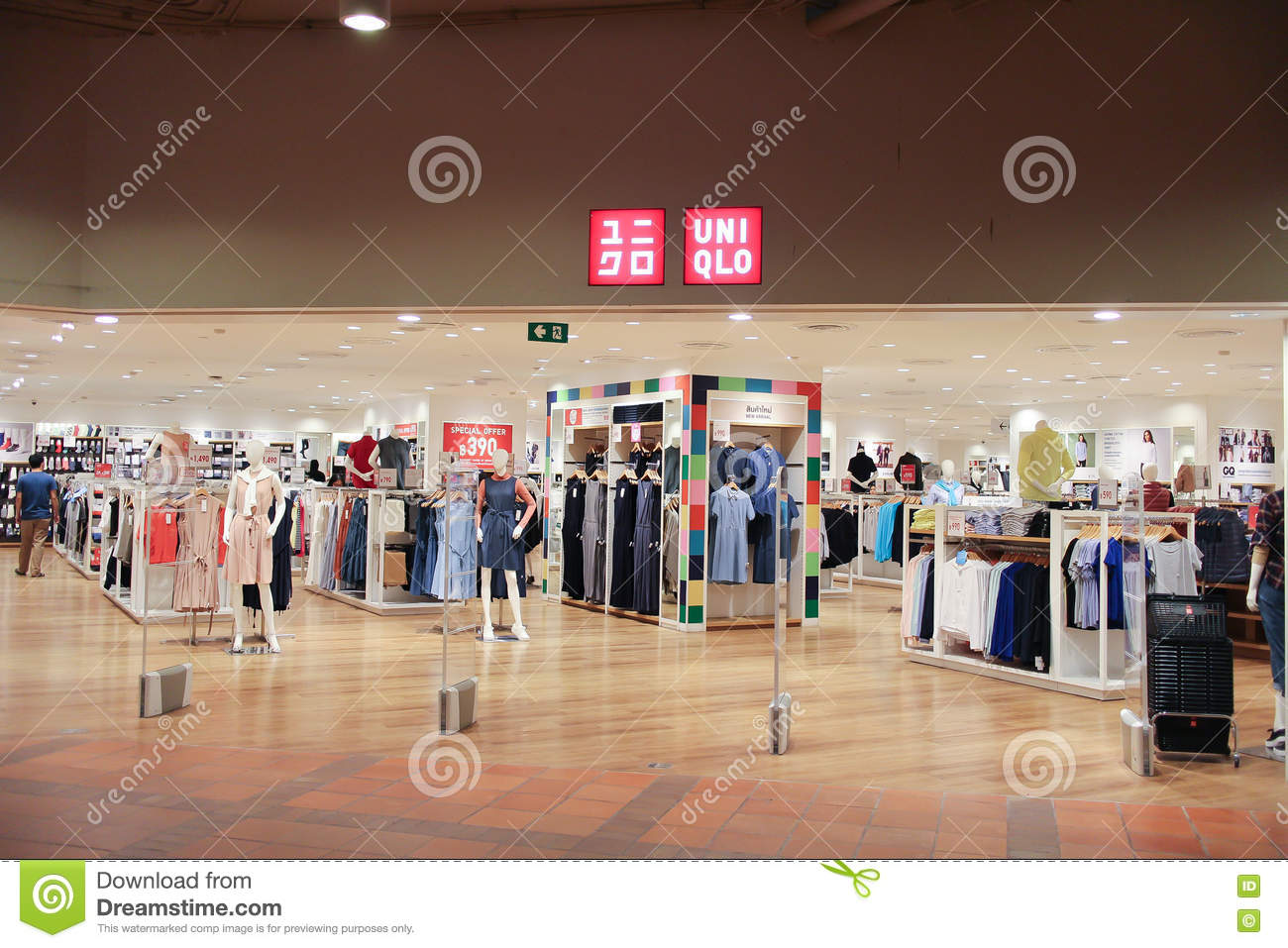 uniqlo co ltd is a japanese casual wear designer manufacturer and retailer photo at central airport plaza chiang mai