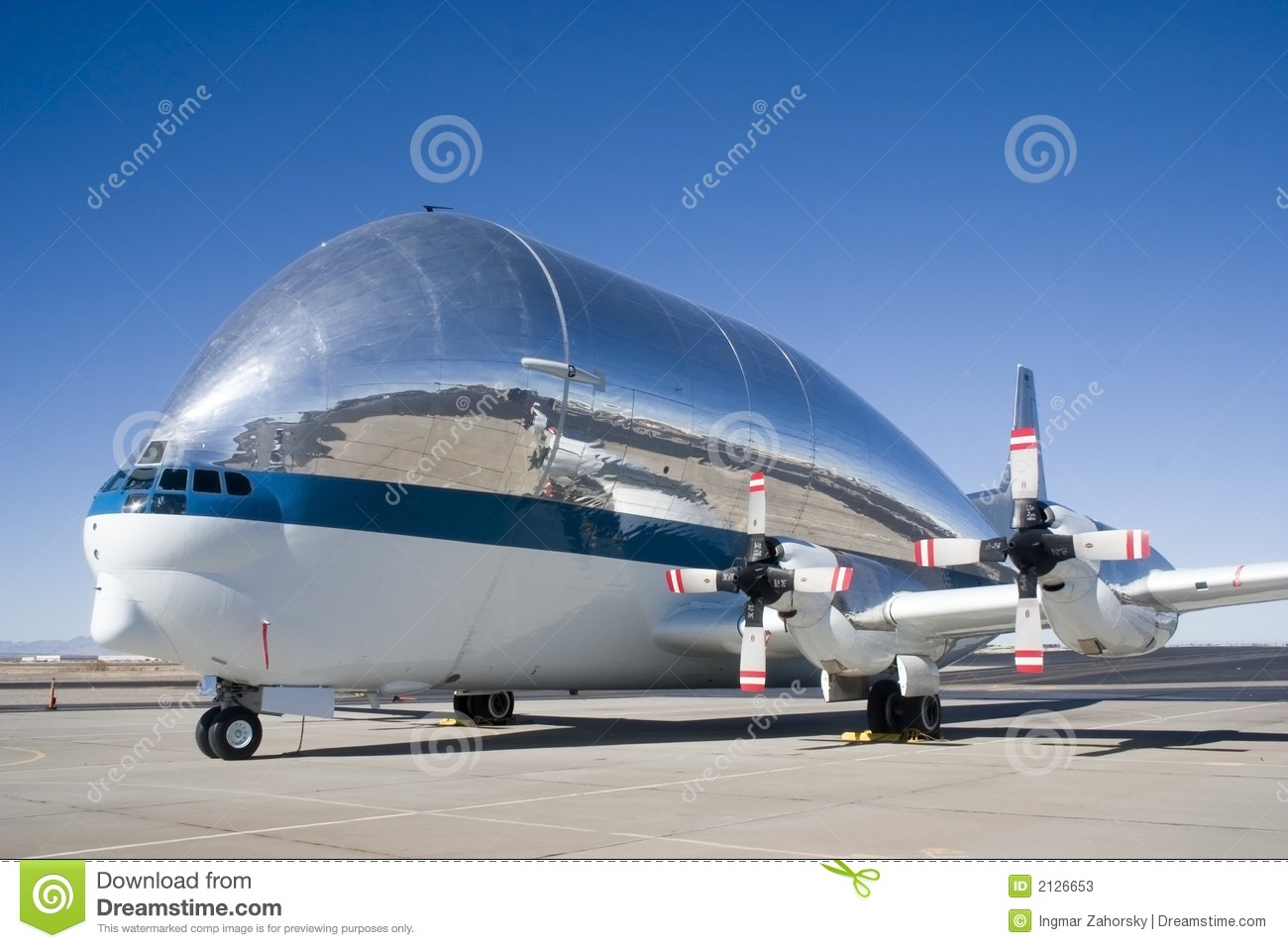 The Super Guppy is a large, wide-bodied cargo aircraft used for ...