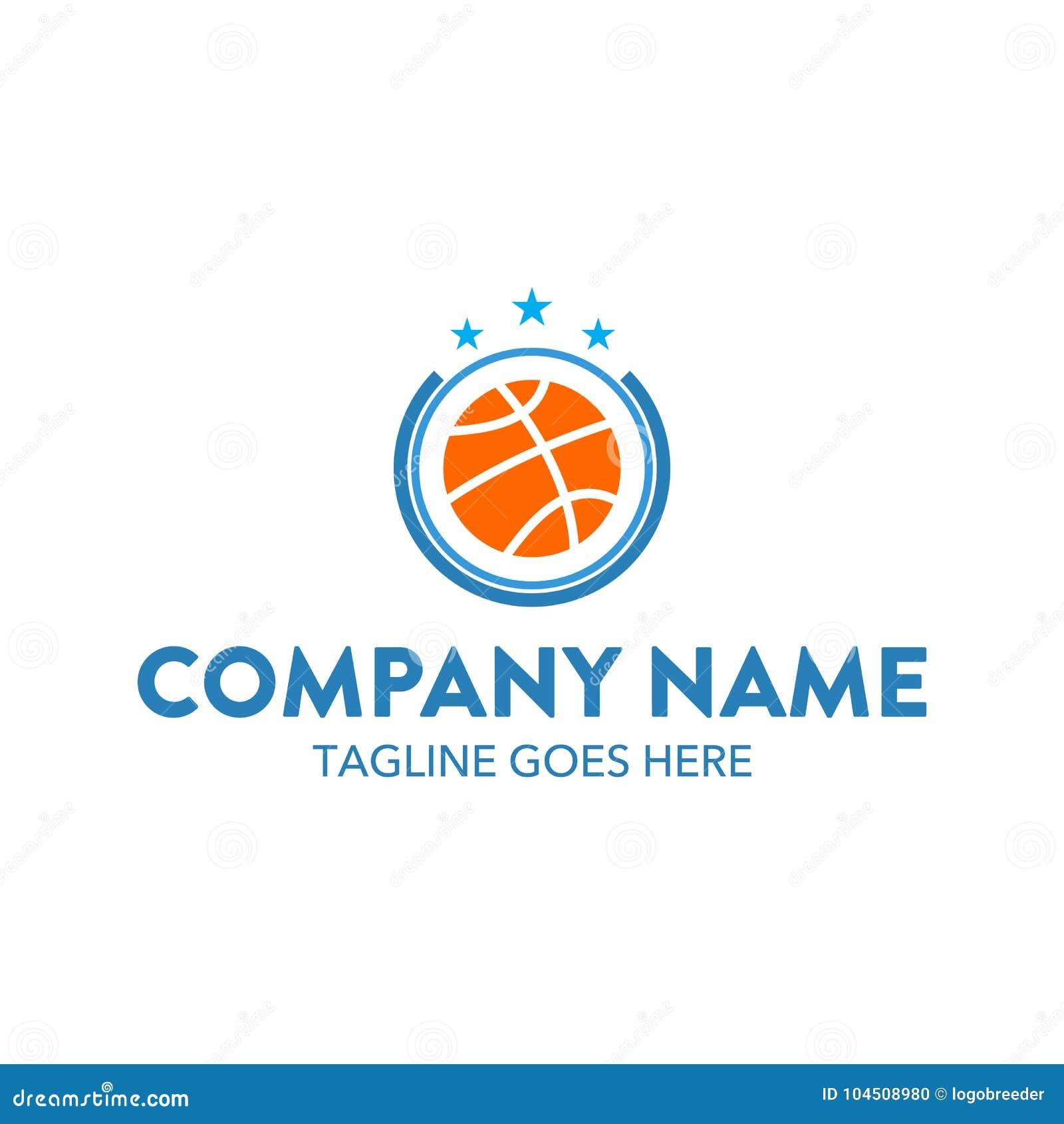 Unique basket ball logo template vector editable stock vector unique basket ball logo template vector editable simple shape minimalist color memorable maxwellsz