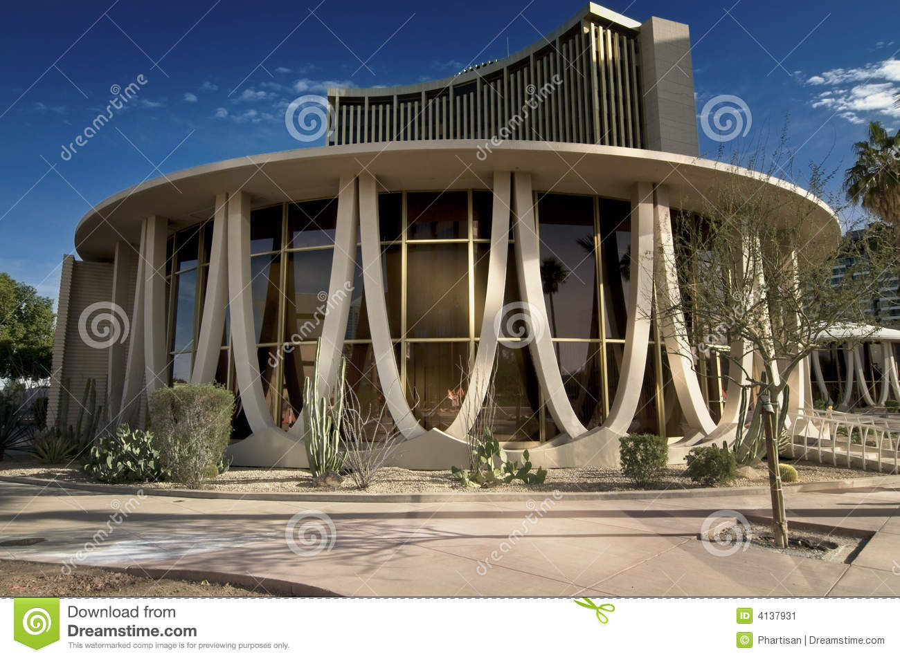 Unique building exterior stock image image of geometric for Time saver details for exterior wall design