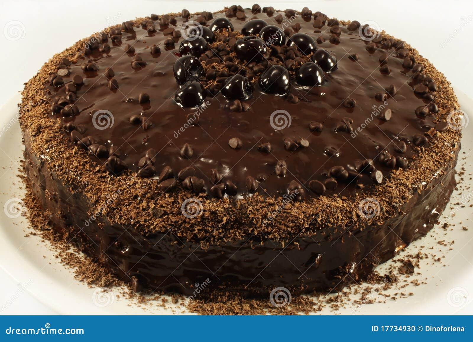 Unique Chocolate Cake Images : Unique A Chocolate Cake Stock Photo - Image: 17734930