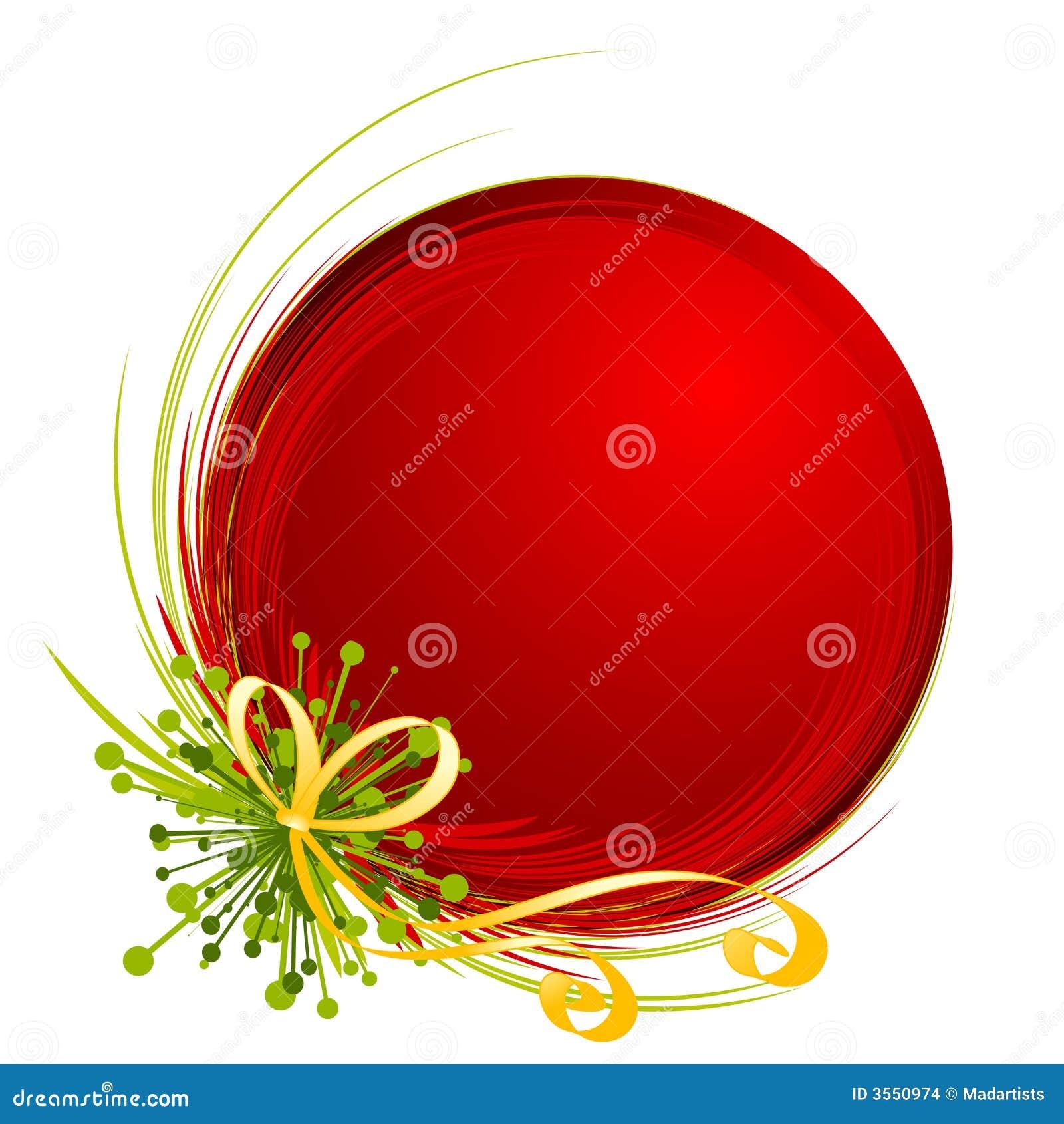 clip art illustration featuring a unique Christmas ornament ...