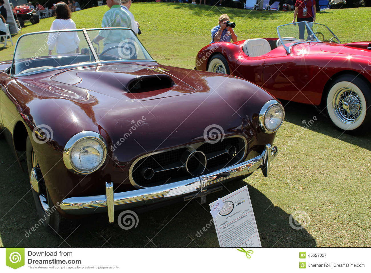 Unique classic sportscar editorial photography  Image of