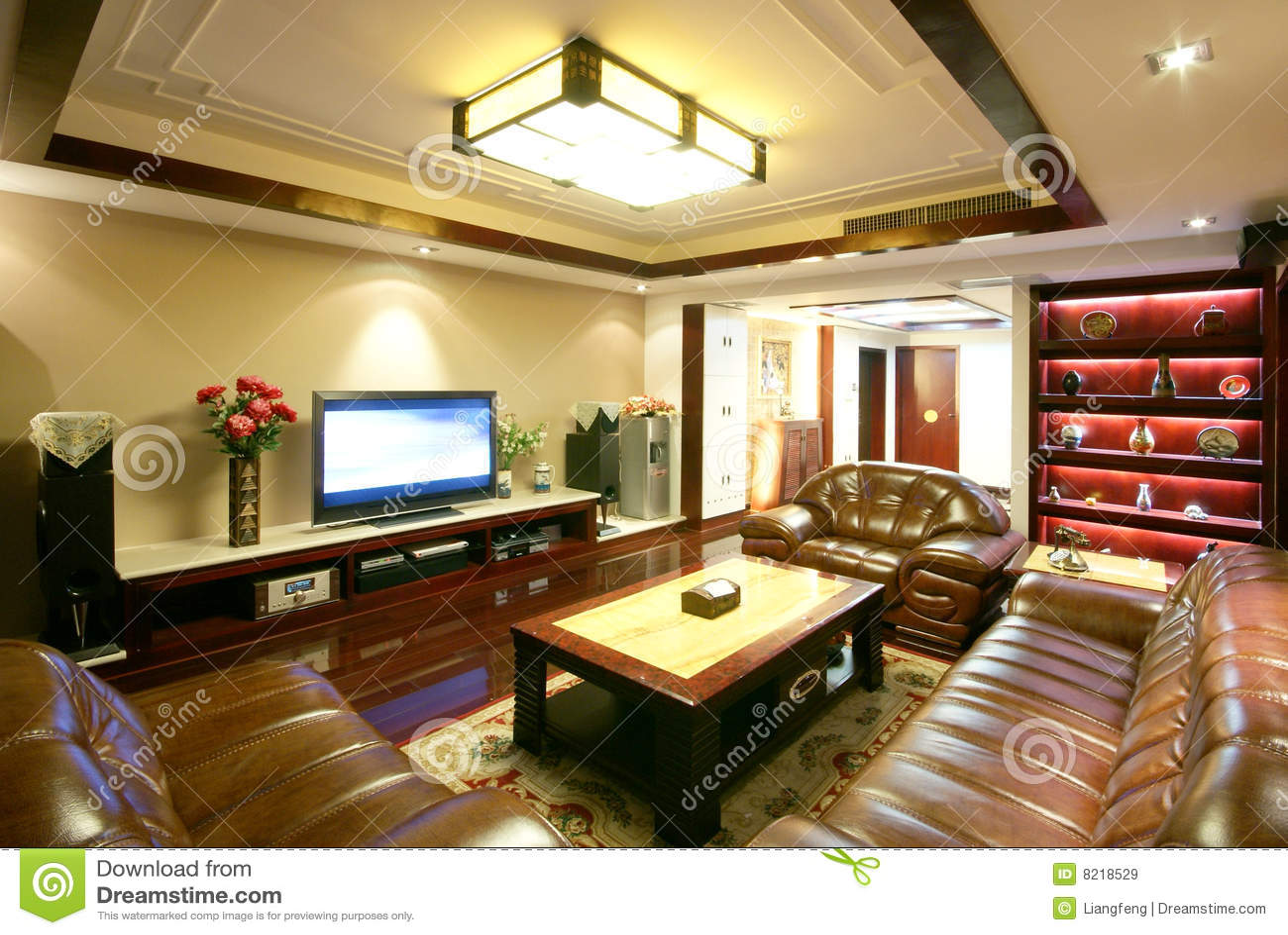 Unique decoration and comfortable house