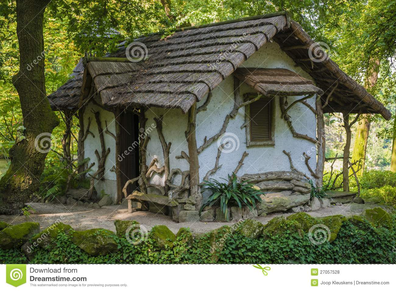 Unique garden house stock photo image of rustic house House garden pics