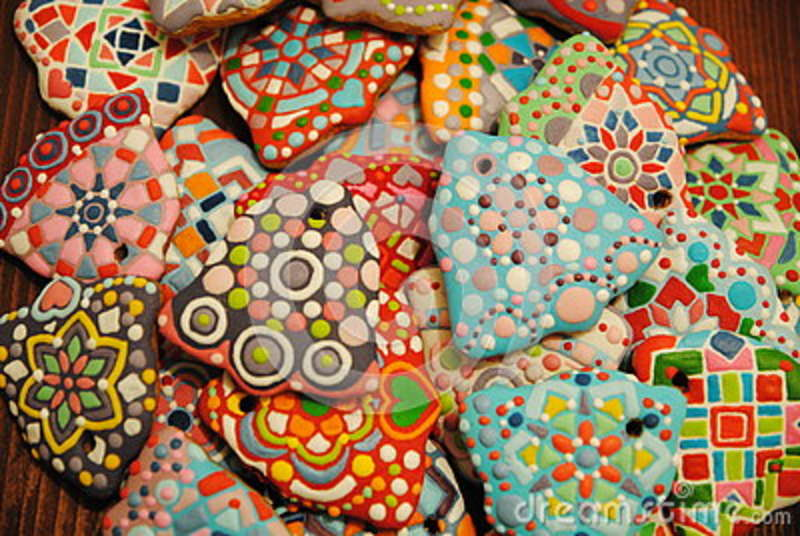 Unique Homemade Colorful Christmas Cookies Collection Gingerbread