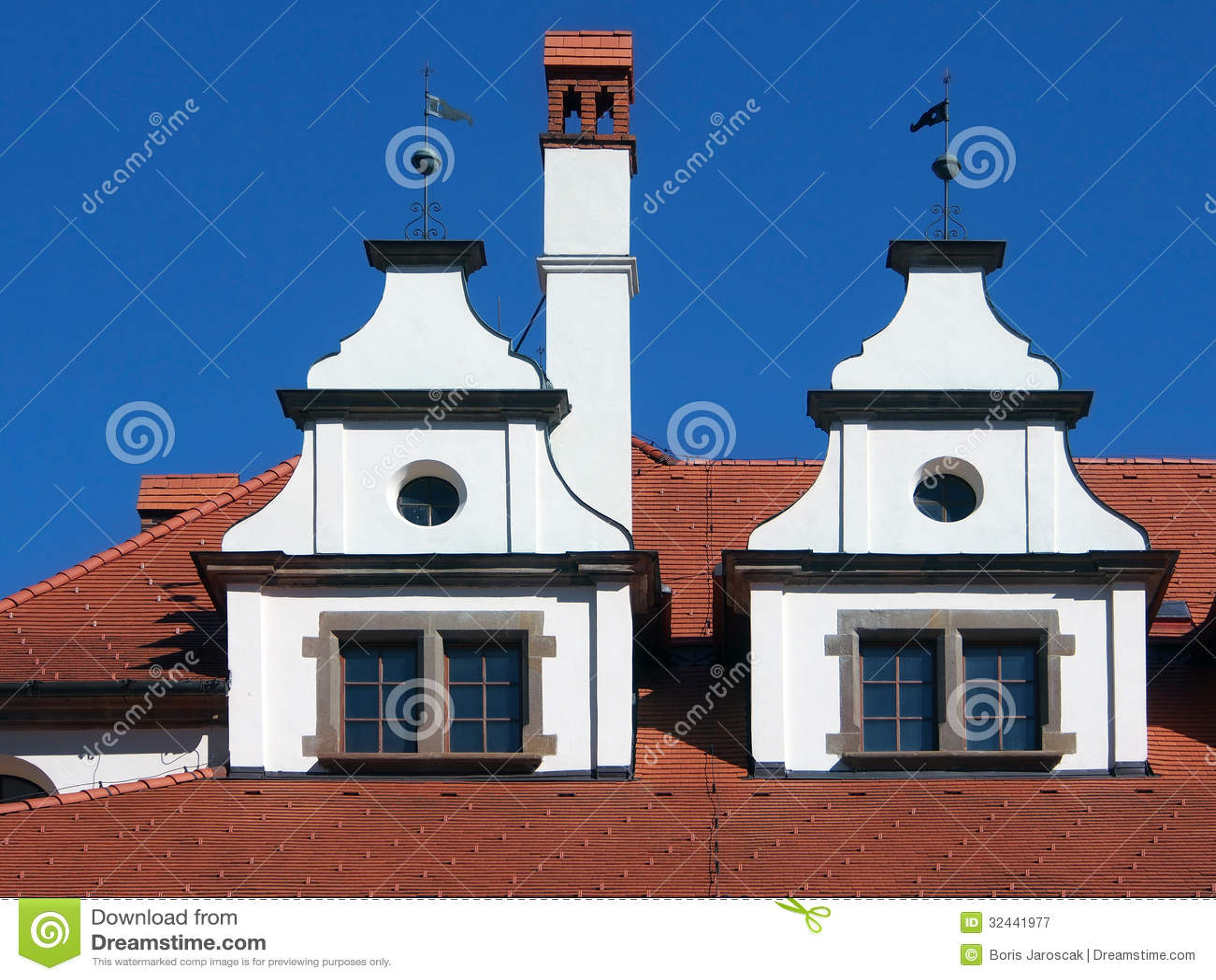 Unique medieval roofs in Levoca